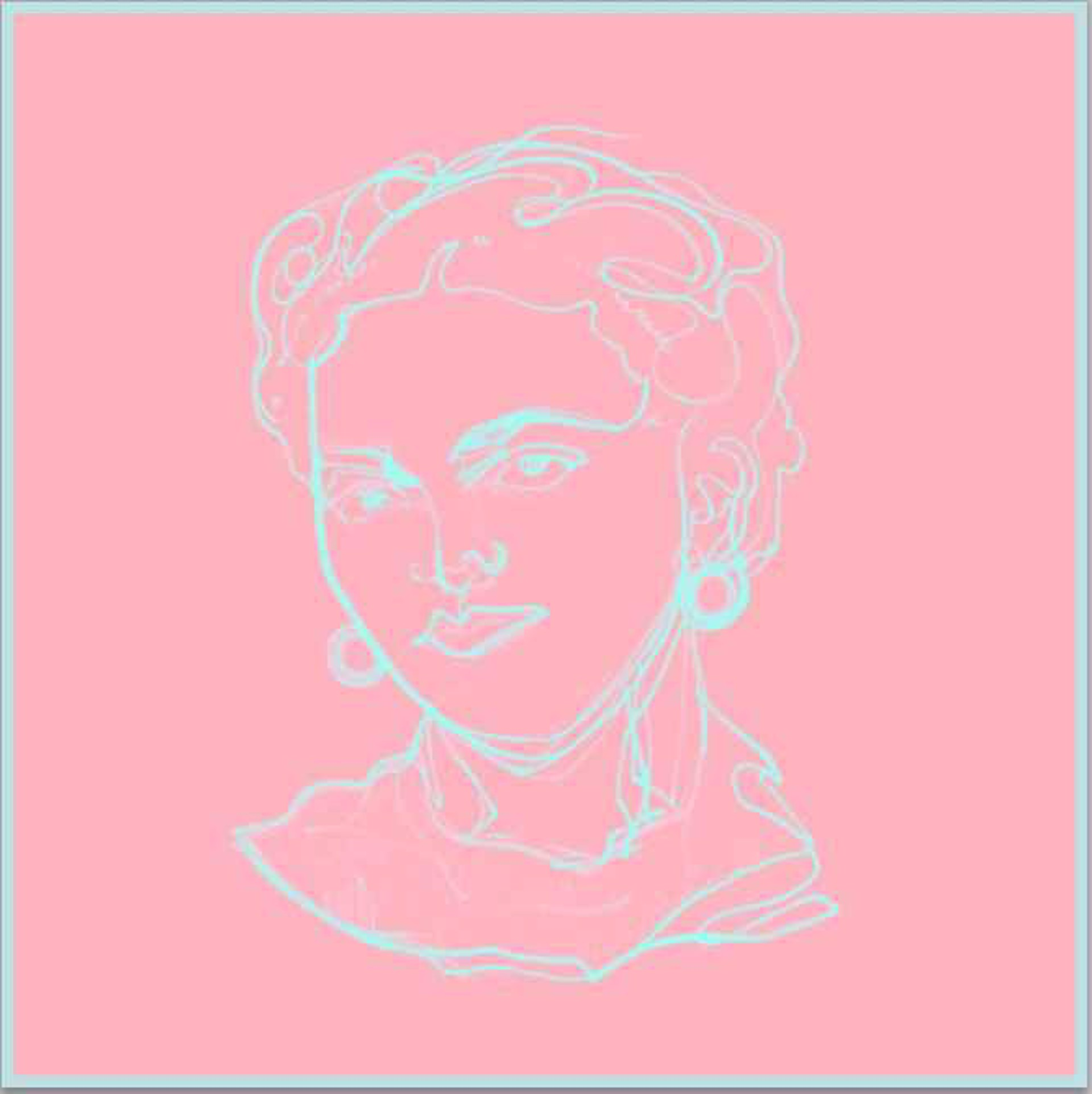 Cotton Candy Frida by Nicolle Dhimes