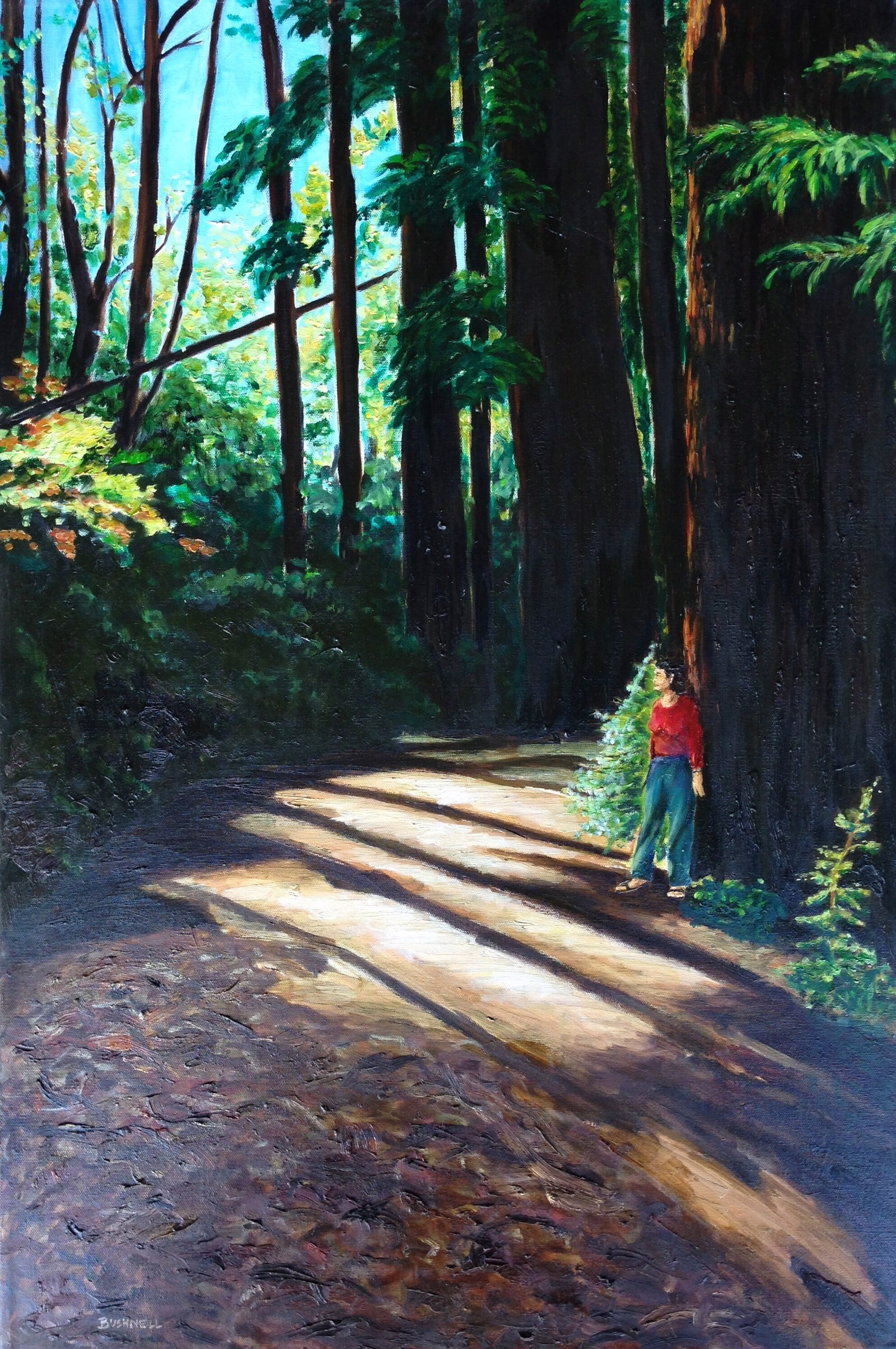 In The Forest by Brent Bushnell