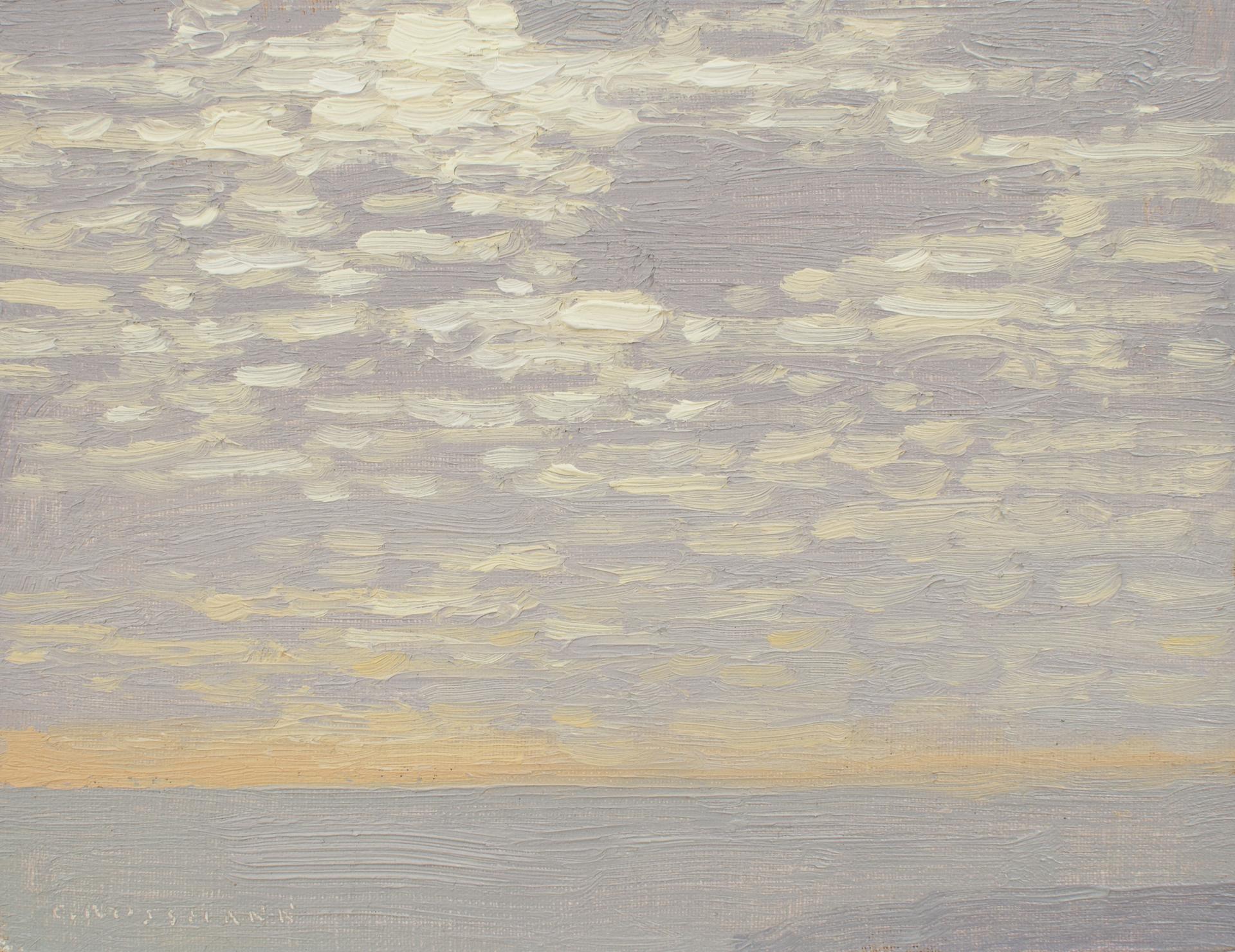 January Morning Clouds by David Grossmann