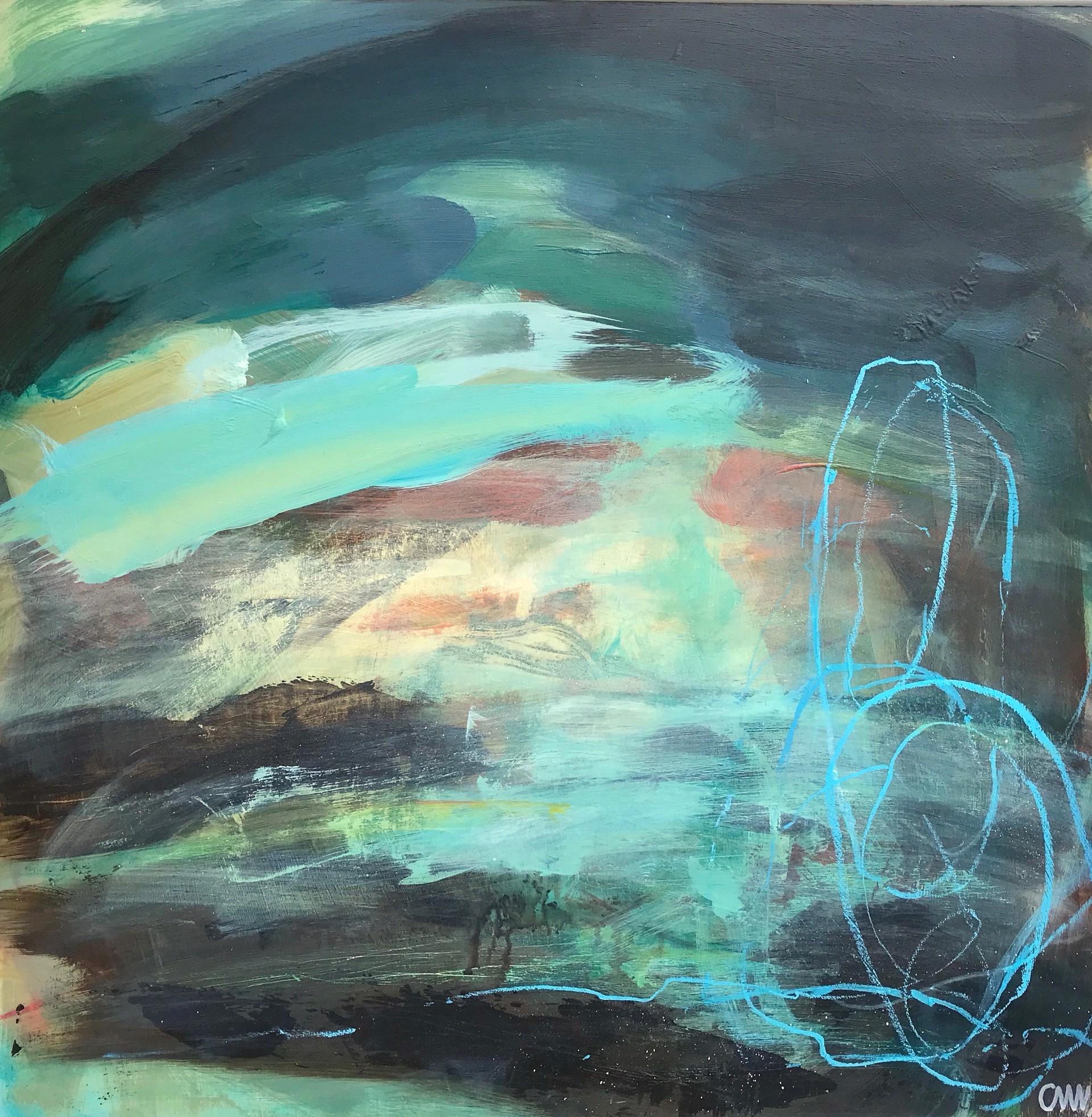 Winter Seas III by Clare Maria Wood