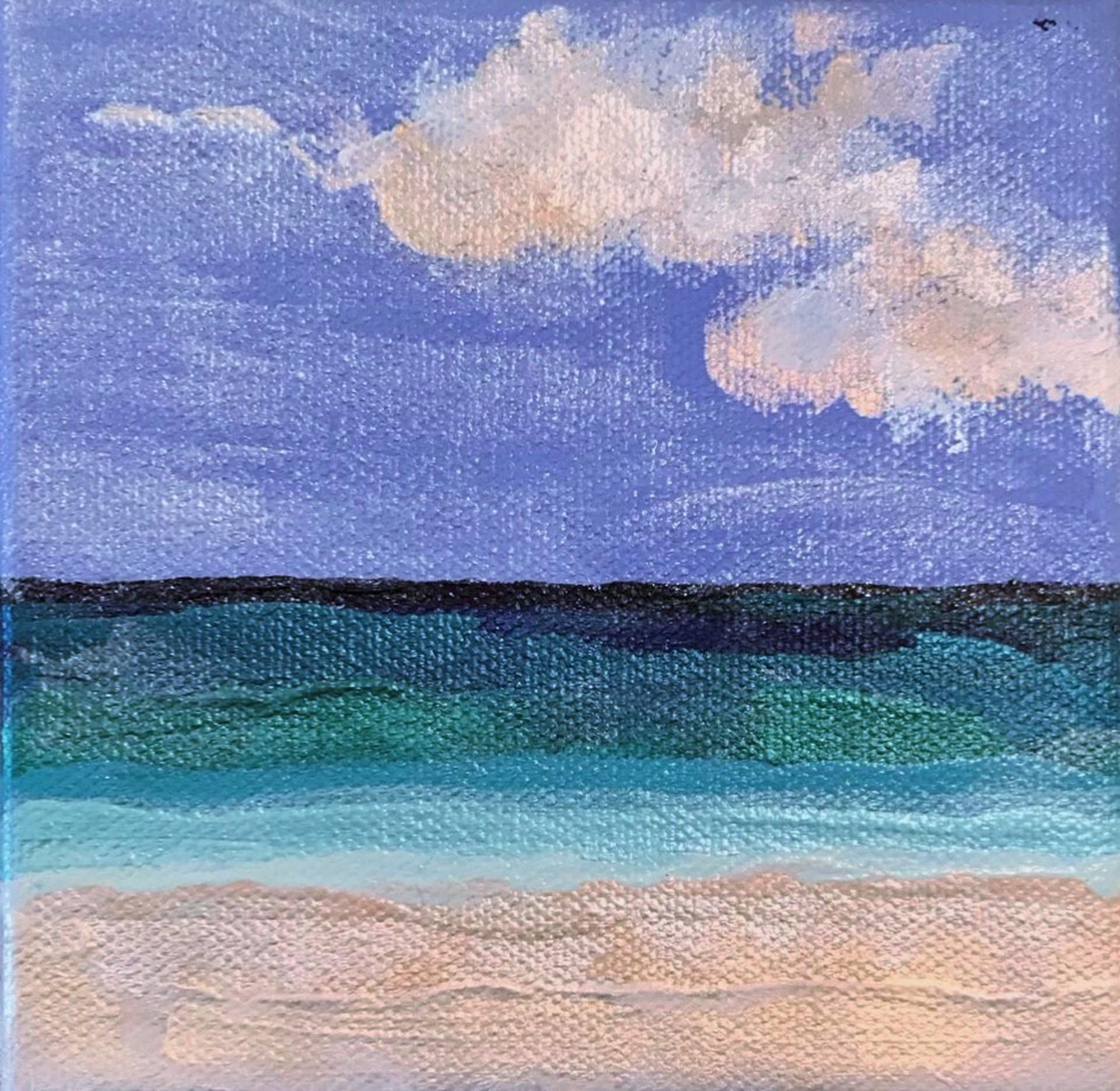 Beachfront No. 4 by Leslie Poteet Busker