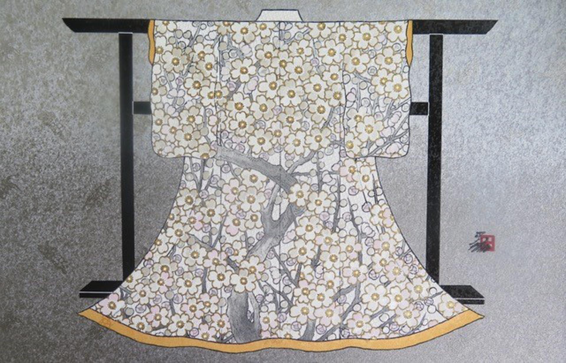 NATURE'S KEEPER #8 (Mini Kimono) by Hisashi Otsuka