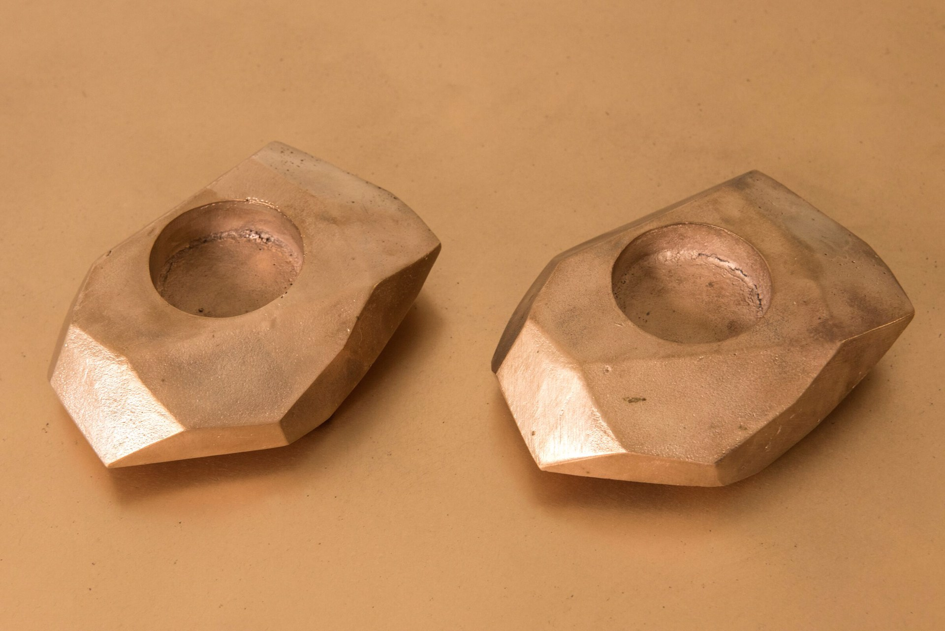 """Nazca"" Candleholders  by Jacques Jarrige"