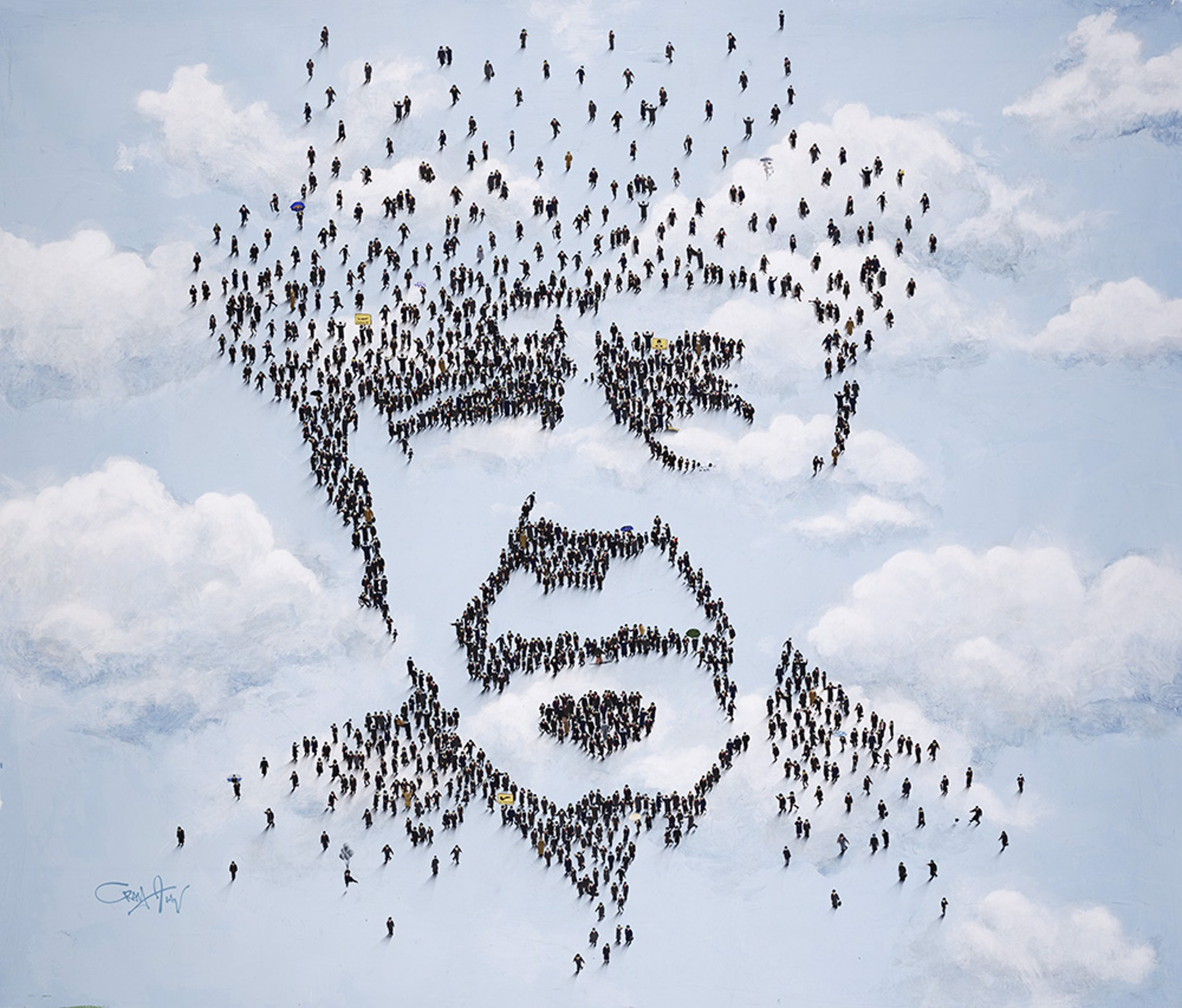 Magritte by Craig Alan, Populus Homage