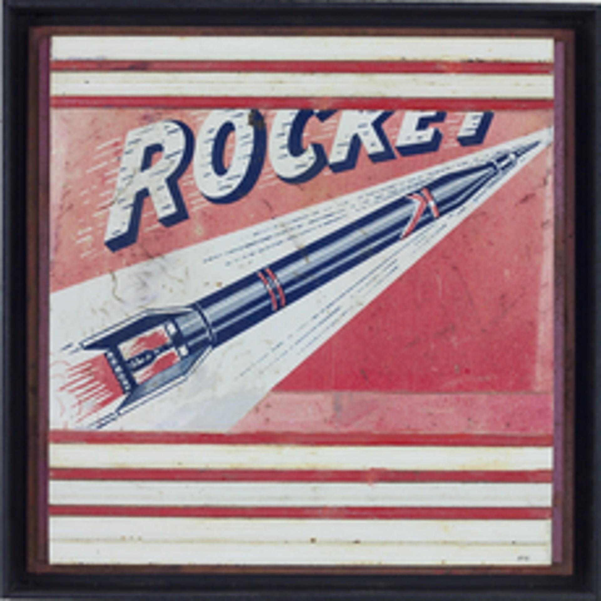 Rocket in Space by Randall Reid