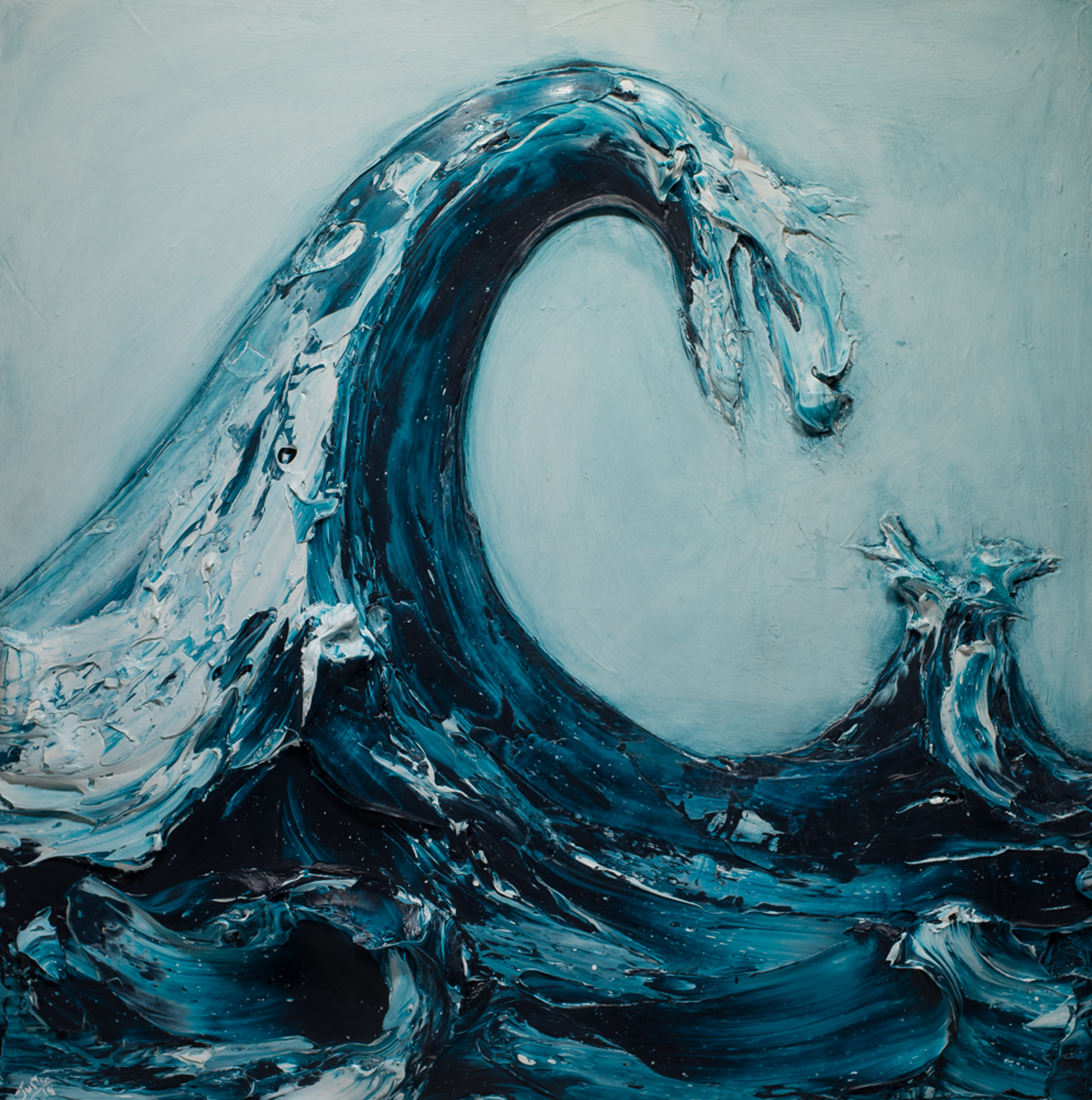 WAVE WV48X48-2018-276 by Justin Gaffrey