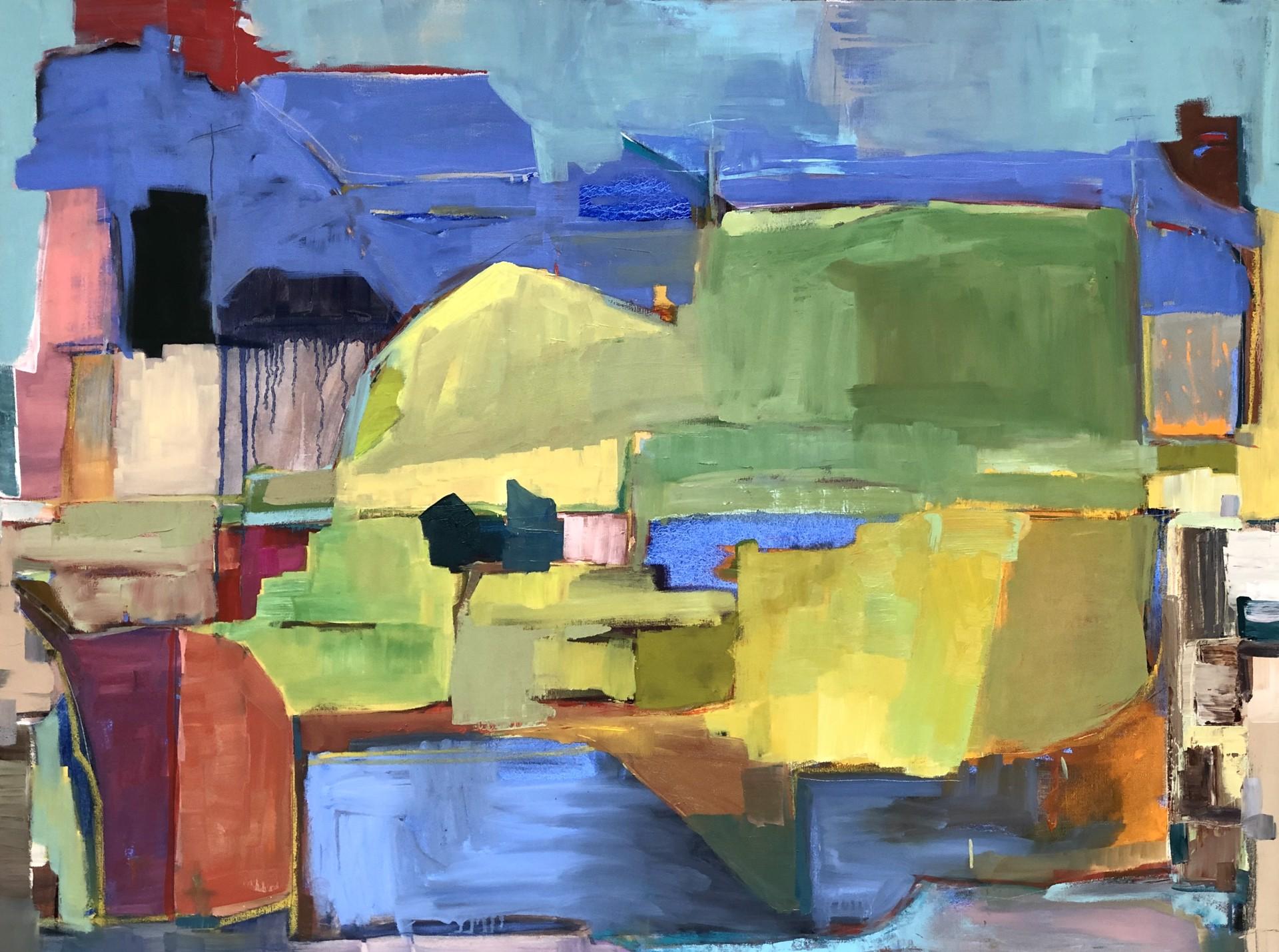 Abstract Landscape 11 by stevenpage prewitt