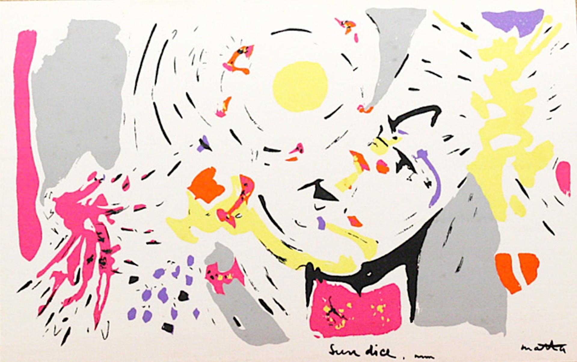 Sun Dice by Roberto Matta