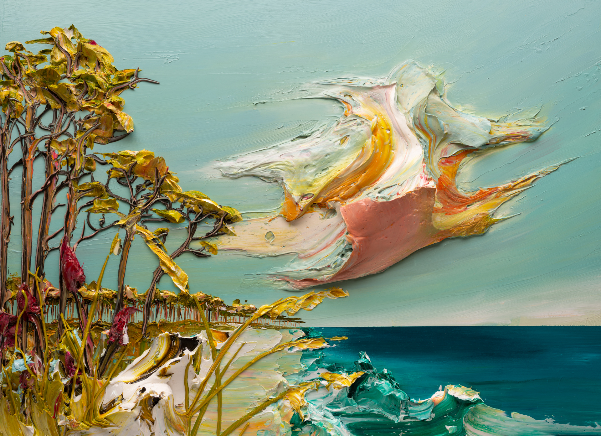 SEASCAPE SS-48x36-2020-028 by JUSTIN GAFFREY
