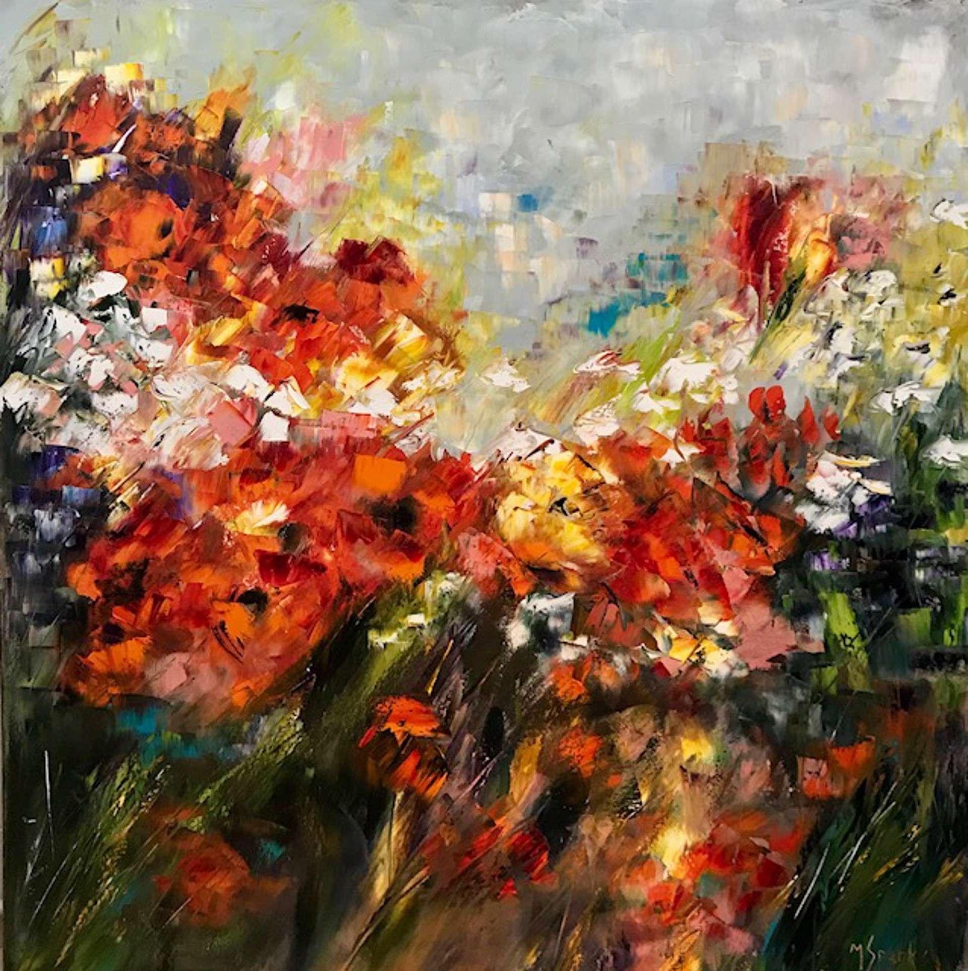 Field of Flowers by Marilyn Sparks