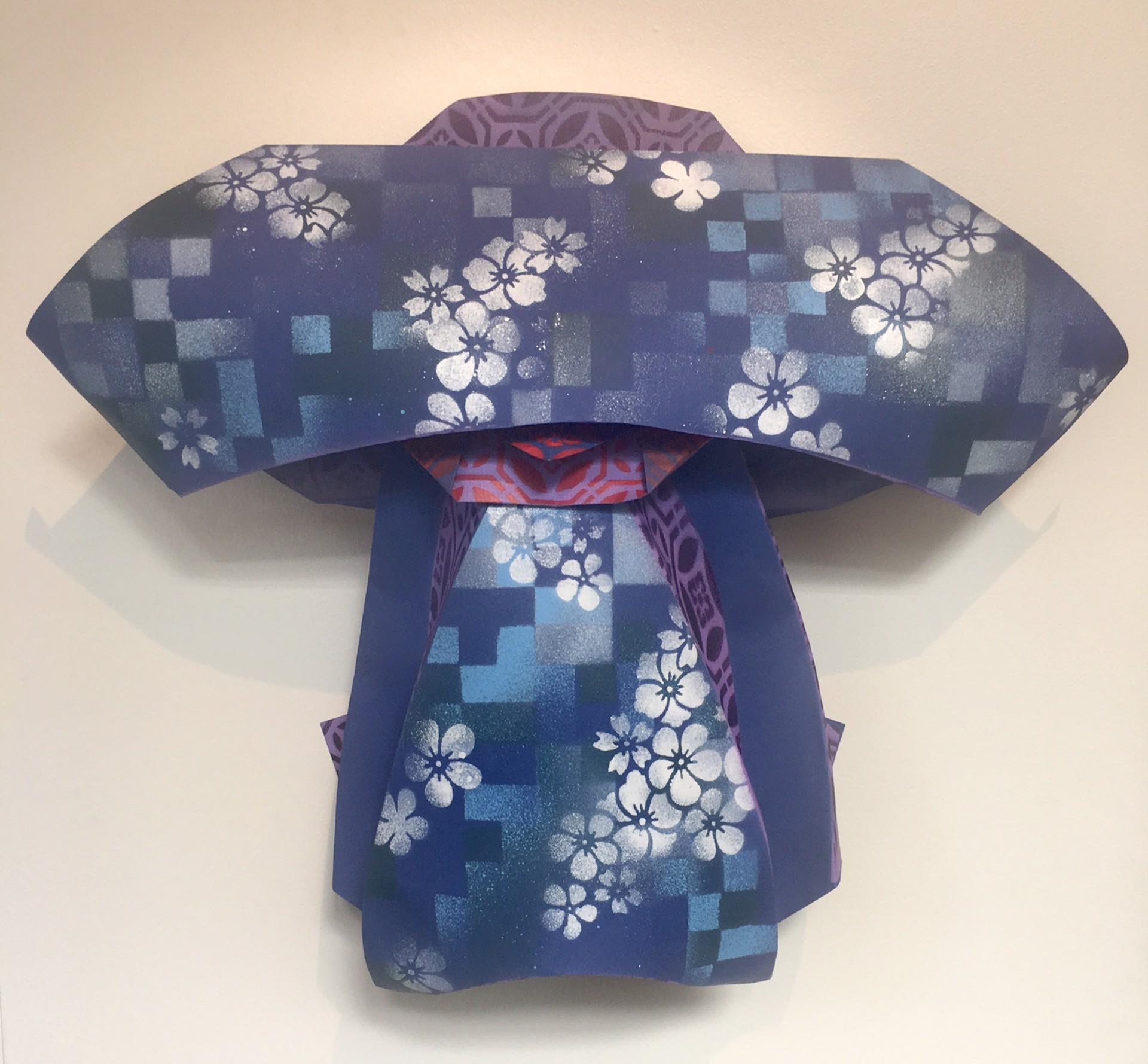 Wakudamono Series: Blue Blossom by Jonathan Wakuda Fischer