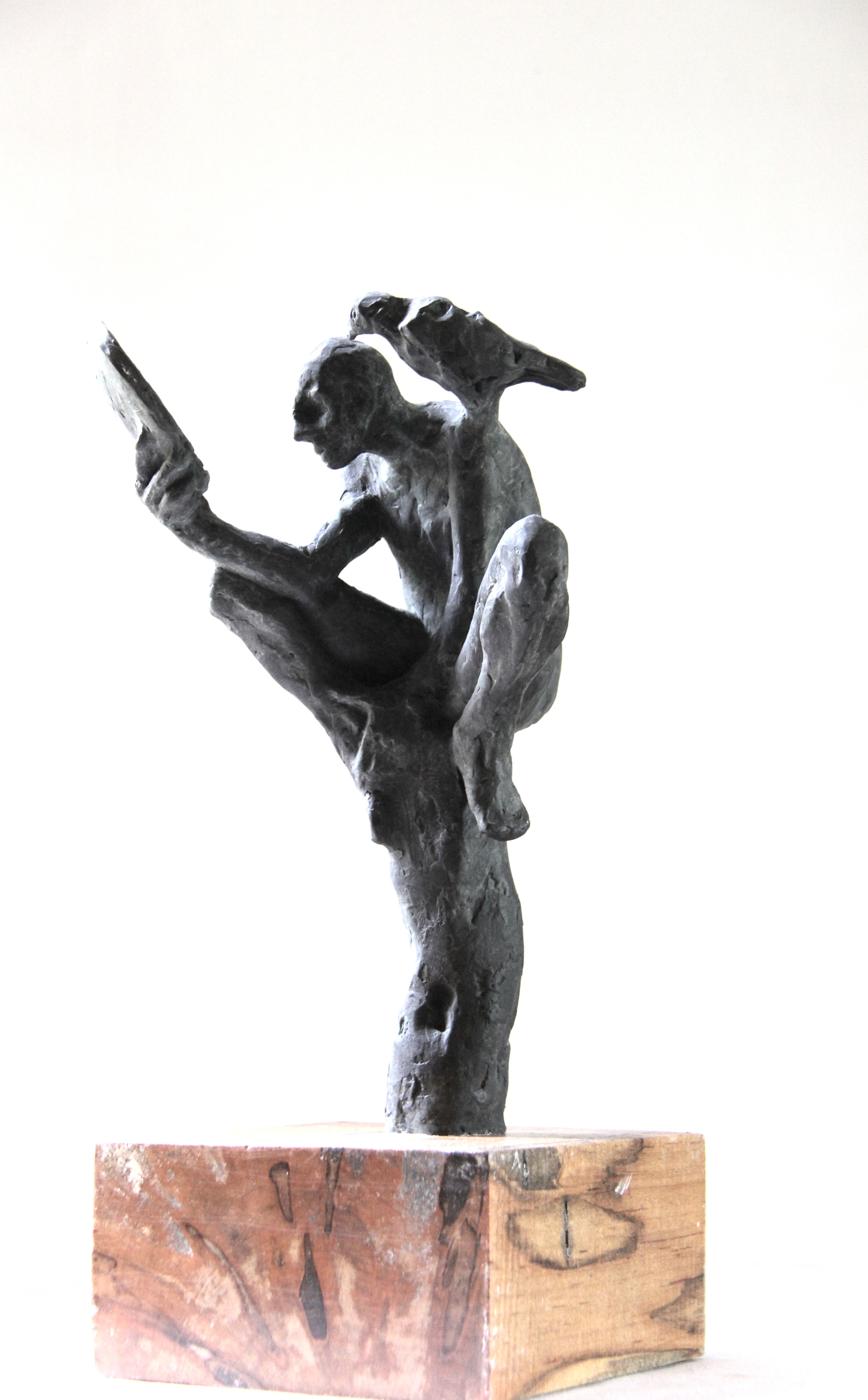 Man and the Bird by Belgin Yucelen