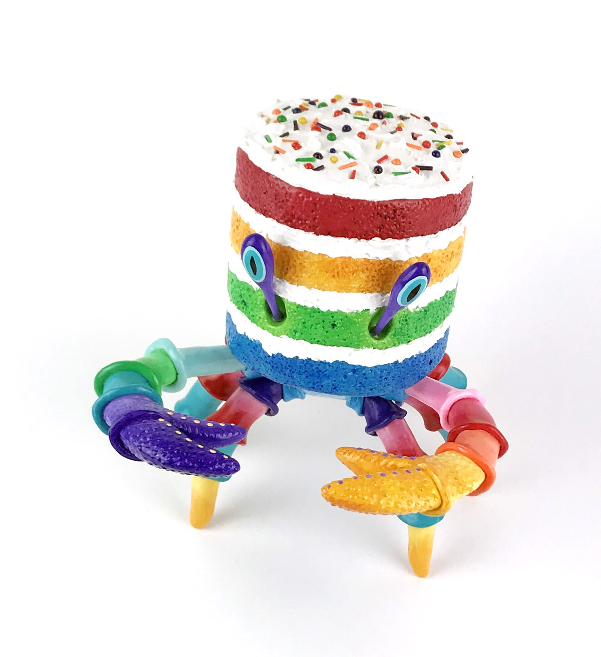 Lil' Rainbow Crabcake by Corina St. Martin