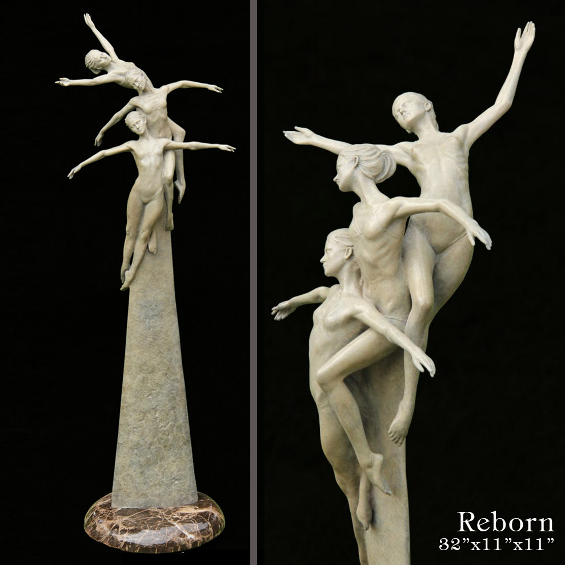 Reborn (Latte Patina) by Michael Talbot
