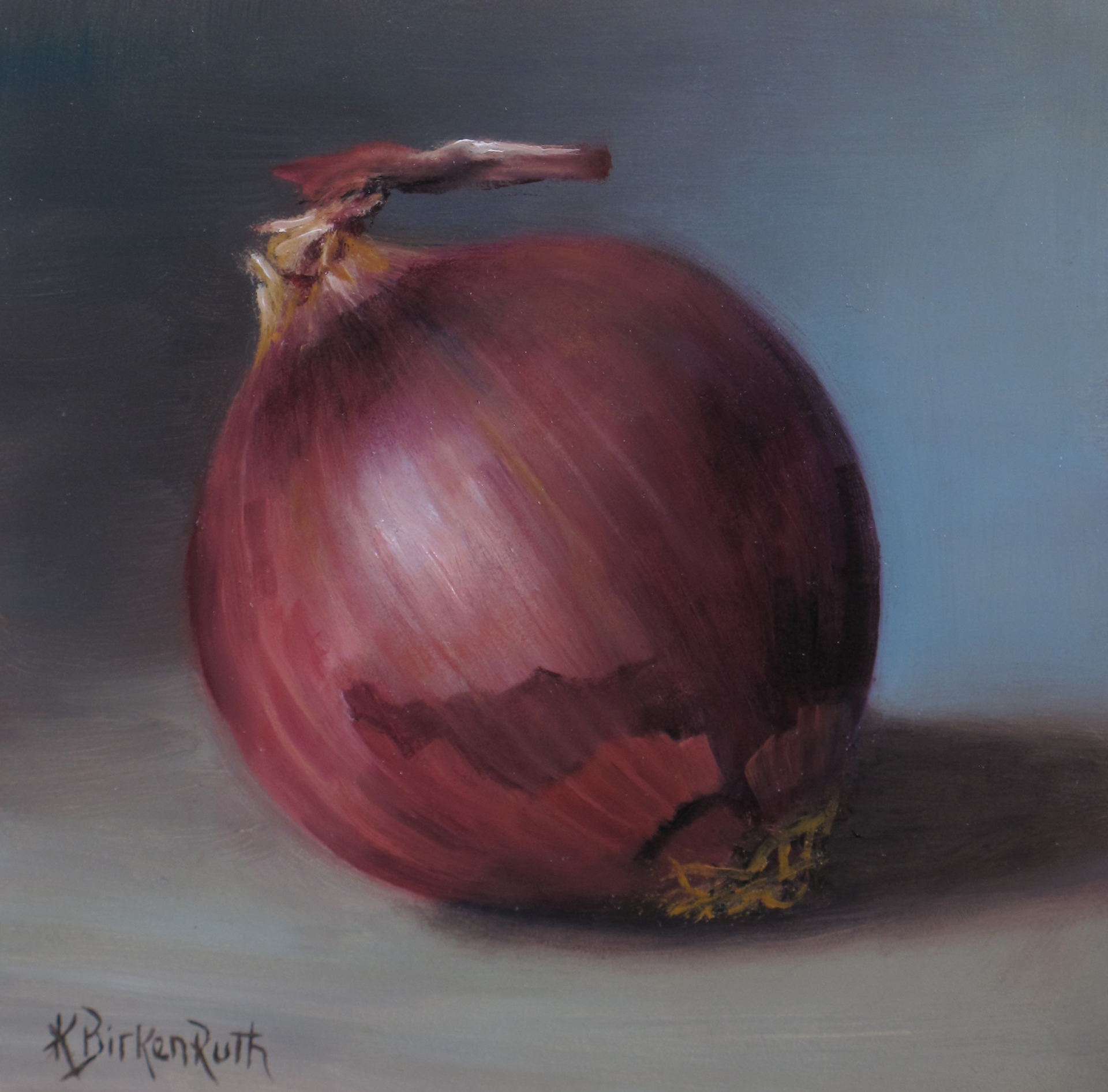 Red Onion by Kelly Birkenruth