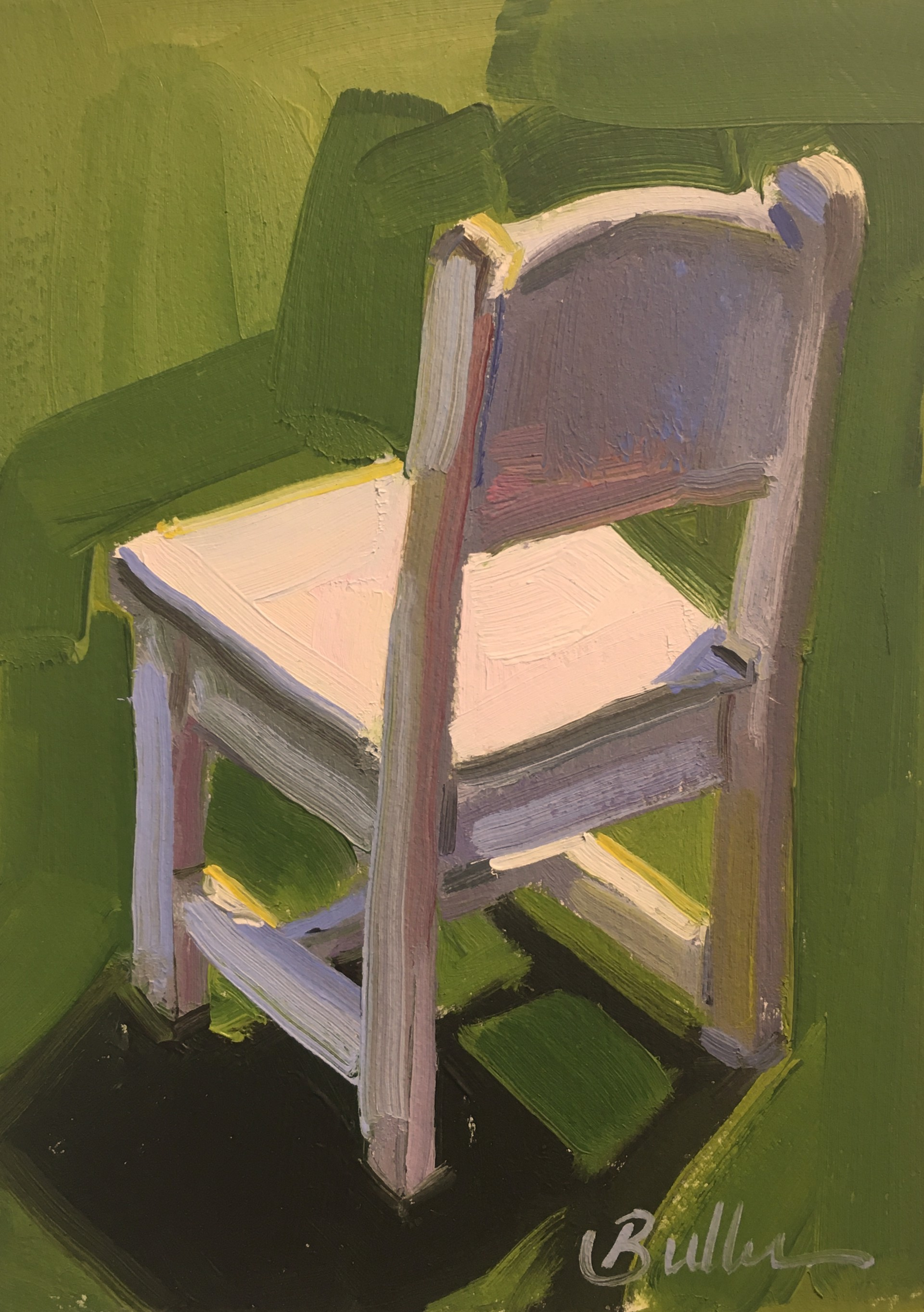 Her Chair by Samantha Buller