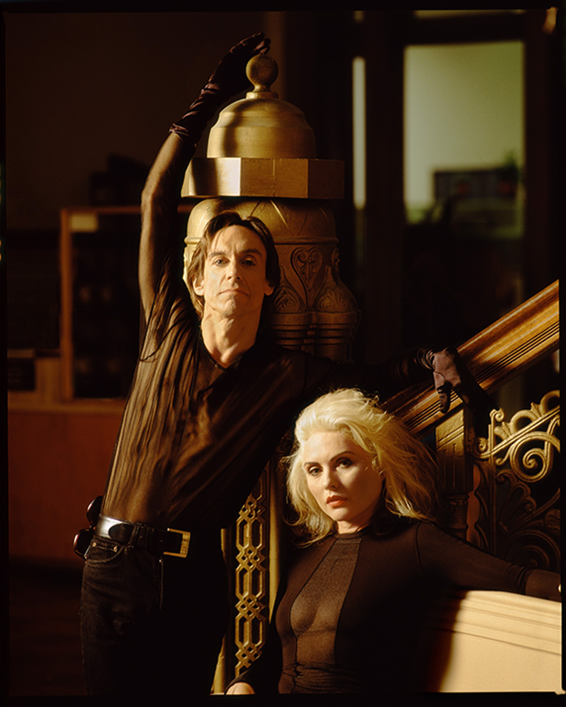 90107 Iggy Pop and Debbie Harry D18 CC Color by Timothy White