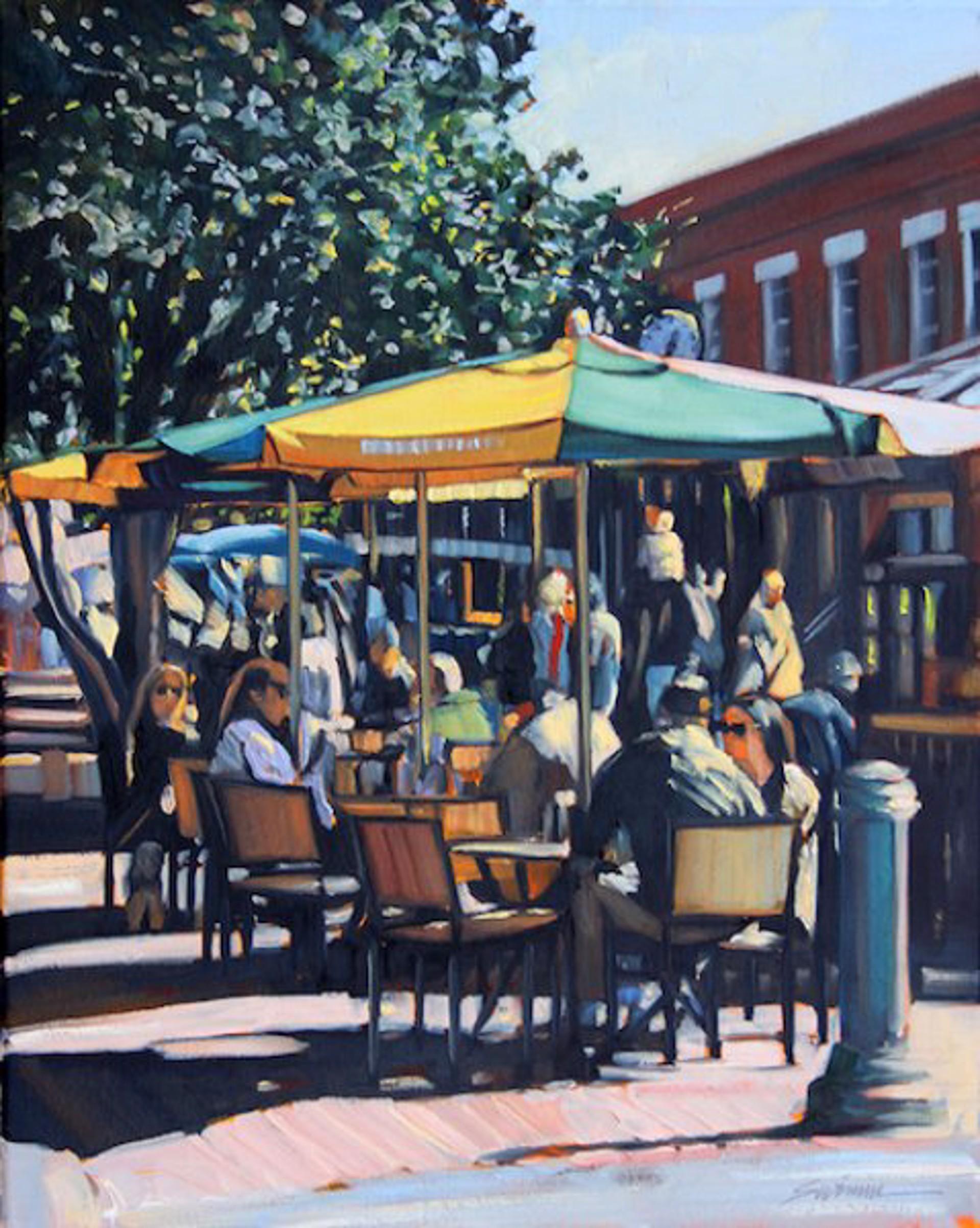 Tom Swimm: Saturday In Savannah by Tom Swimm