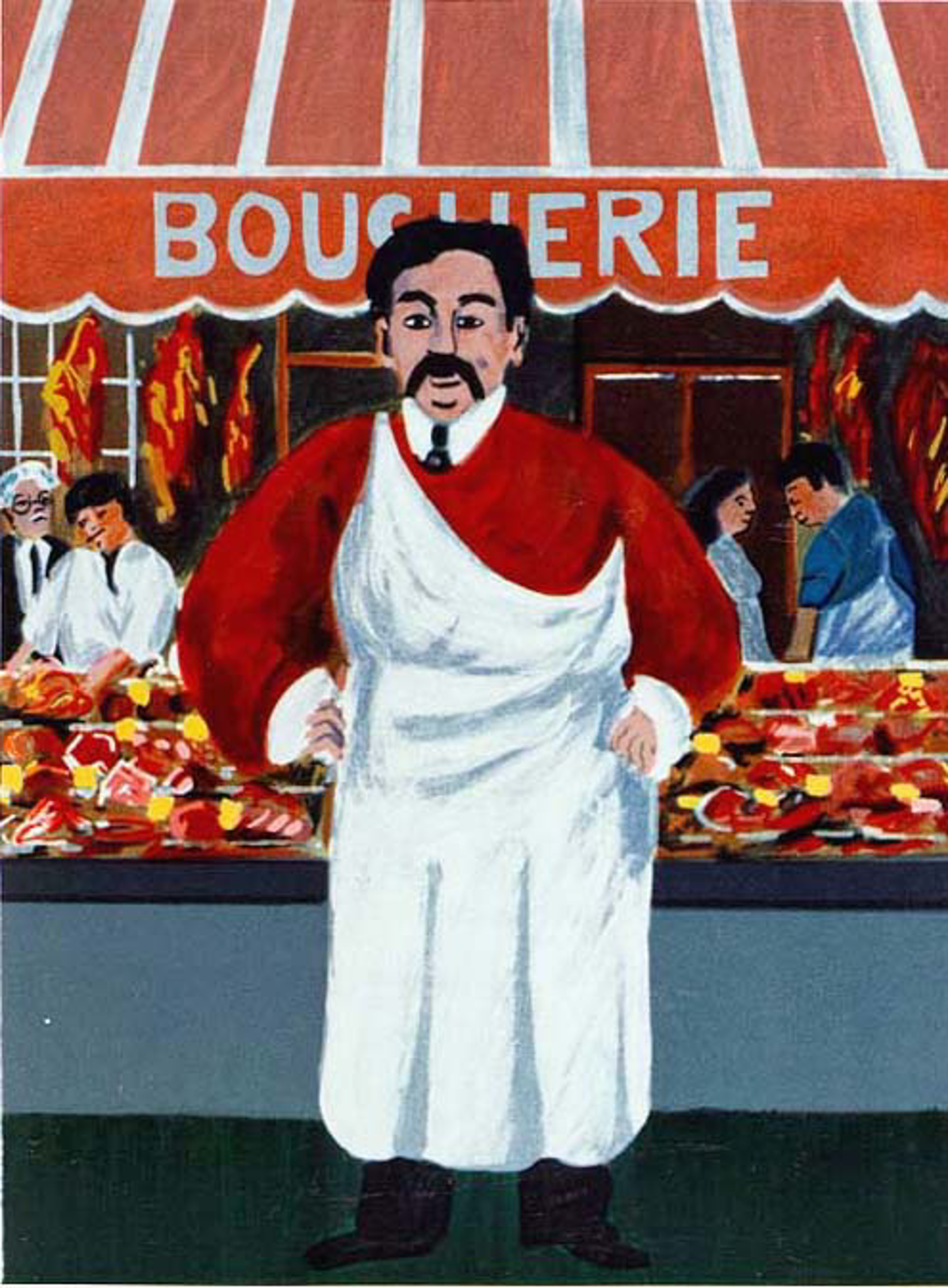 The Butcher by Guy Buffet