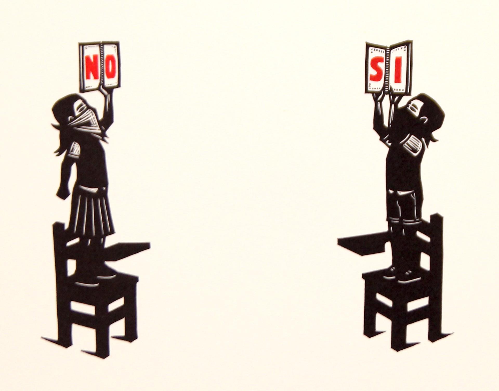 Untitled (Si y No) by Alberto Cruz
