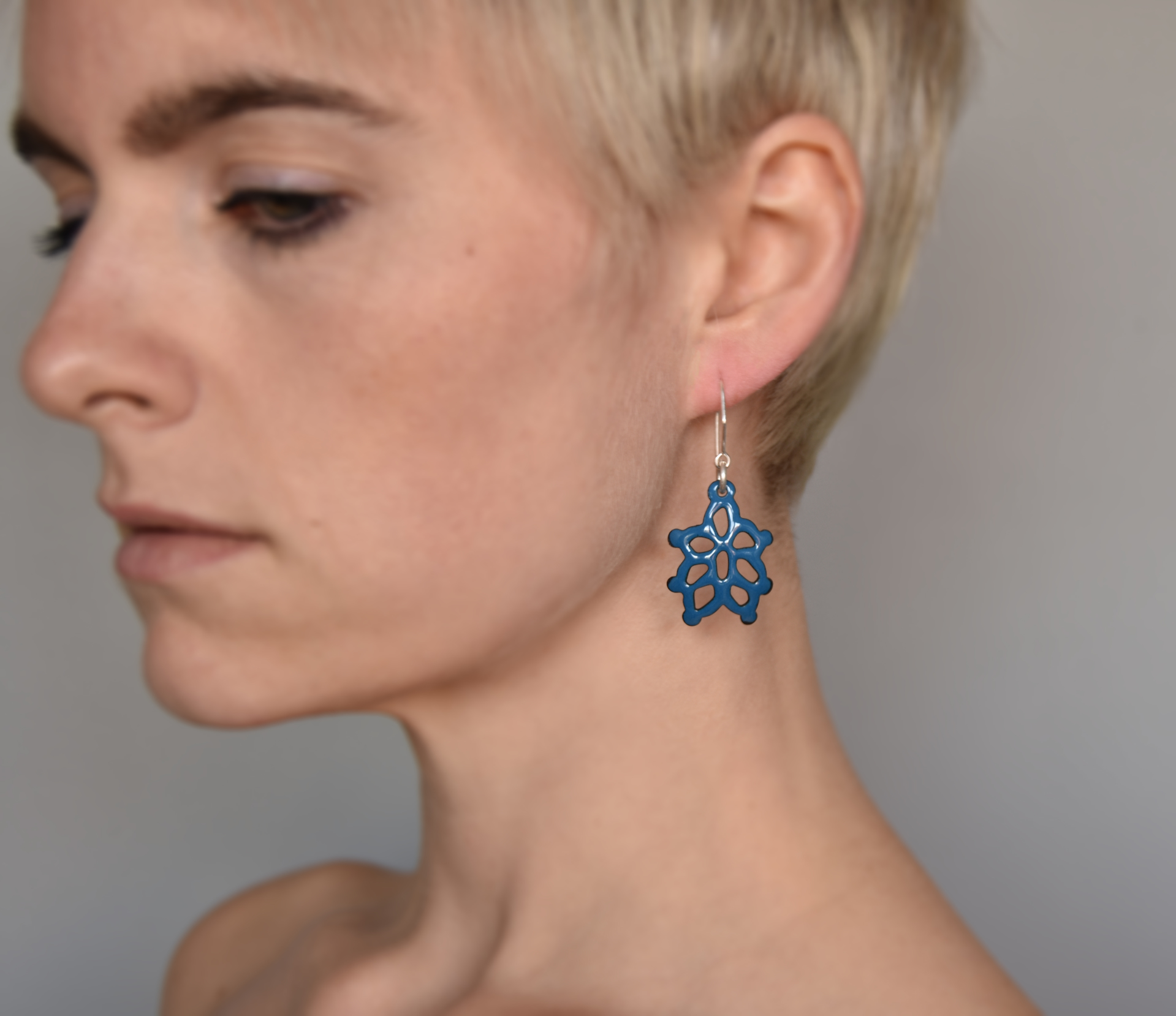 Lotus Structure Earrings by Joanna Nealey
