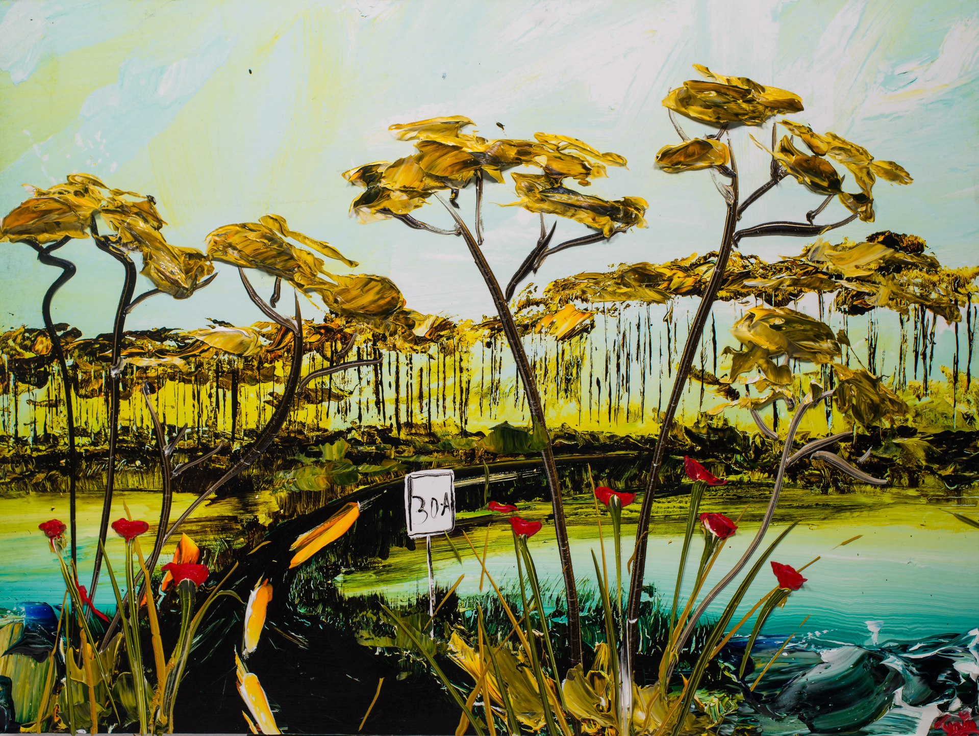 30A LAKESCAPE HPAE8/50 by JUSTIN GAFFREY