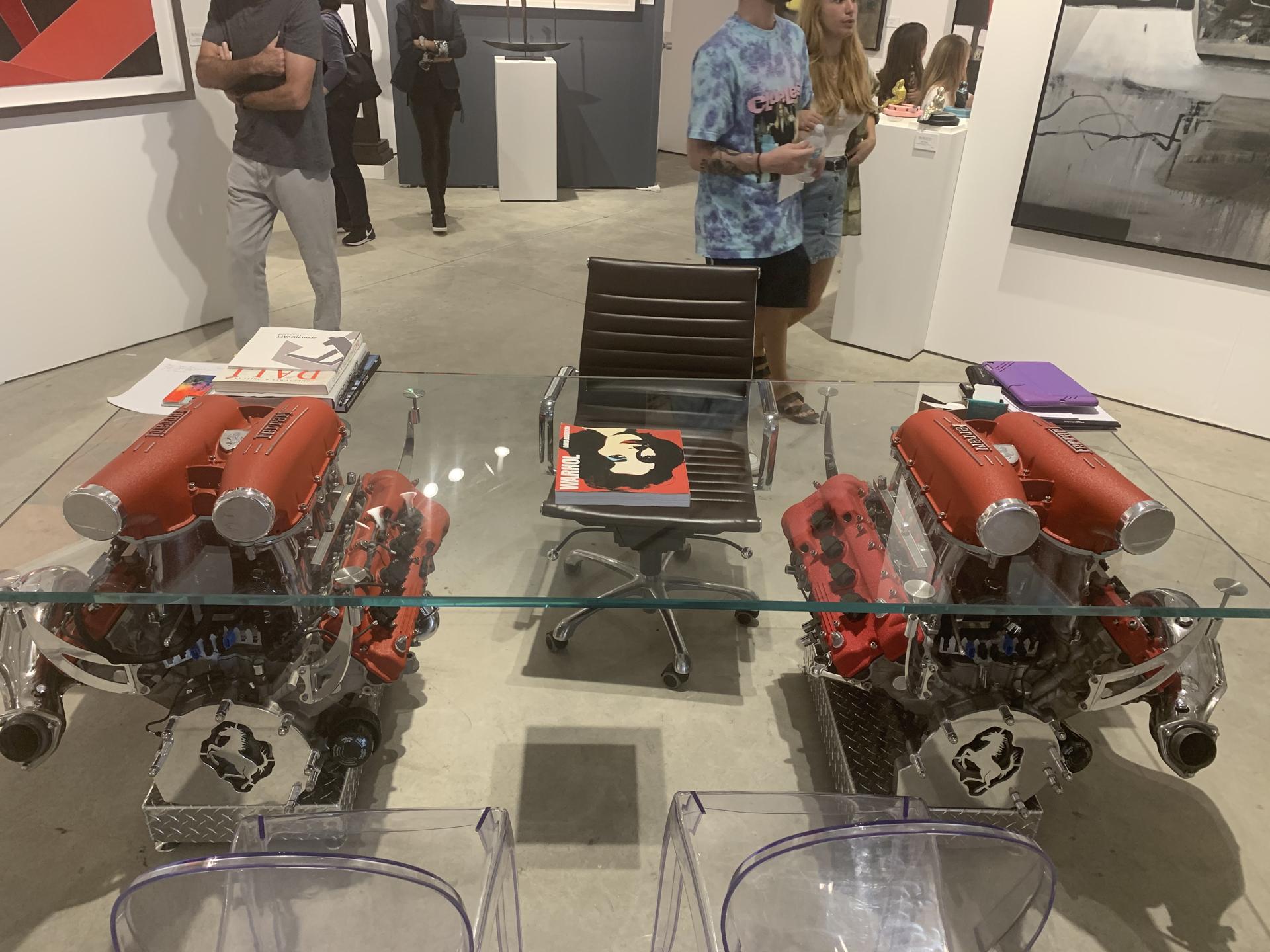 Double Ferrari Desk by Tom Bates