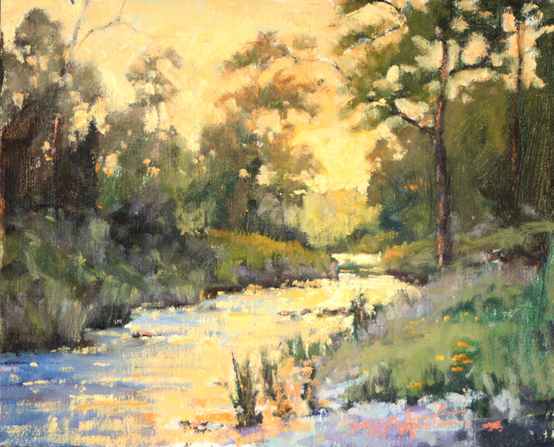Browning Ranch Creek by Perry Austin