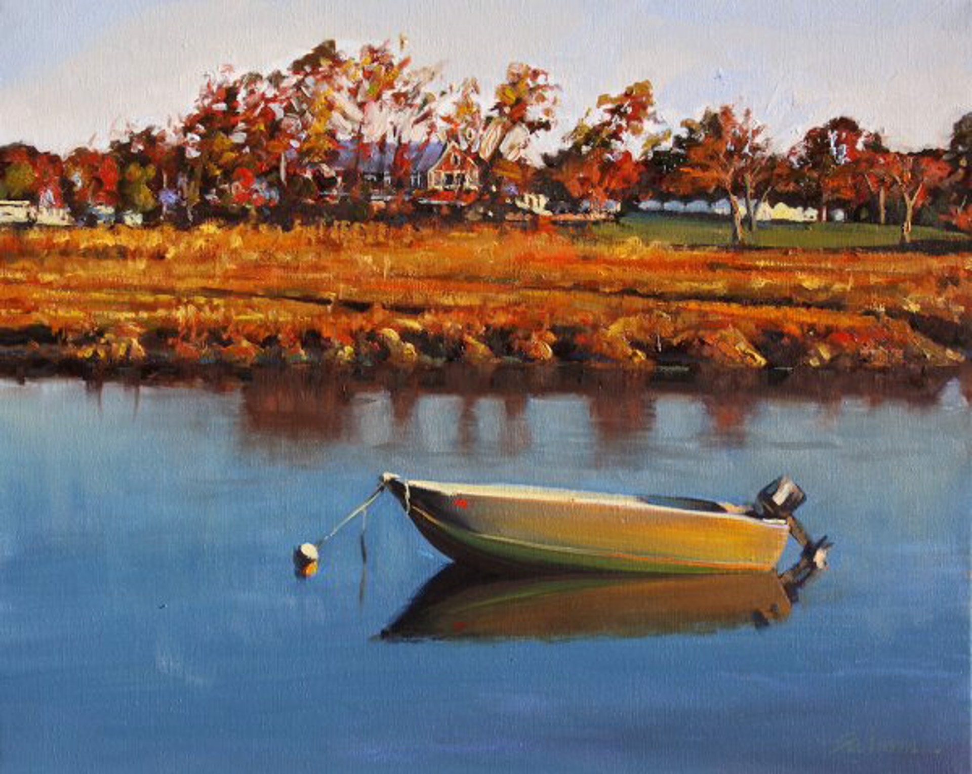 Tom Swimm: Essex River Reflections by Tom Swimm