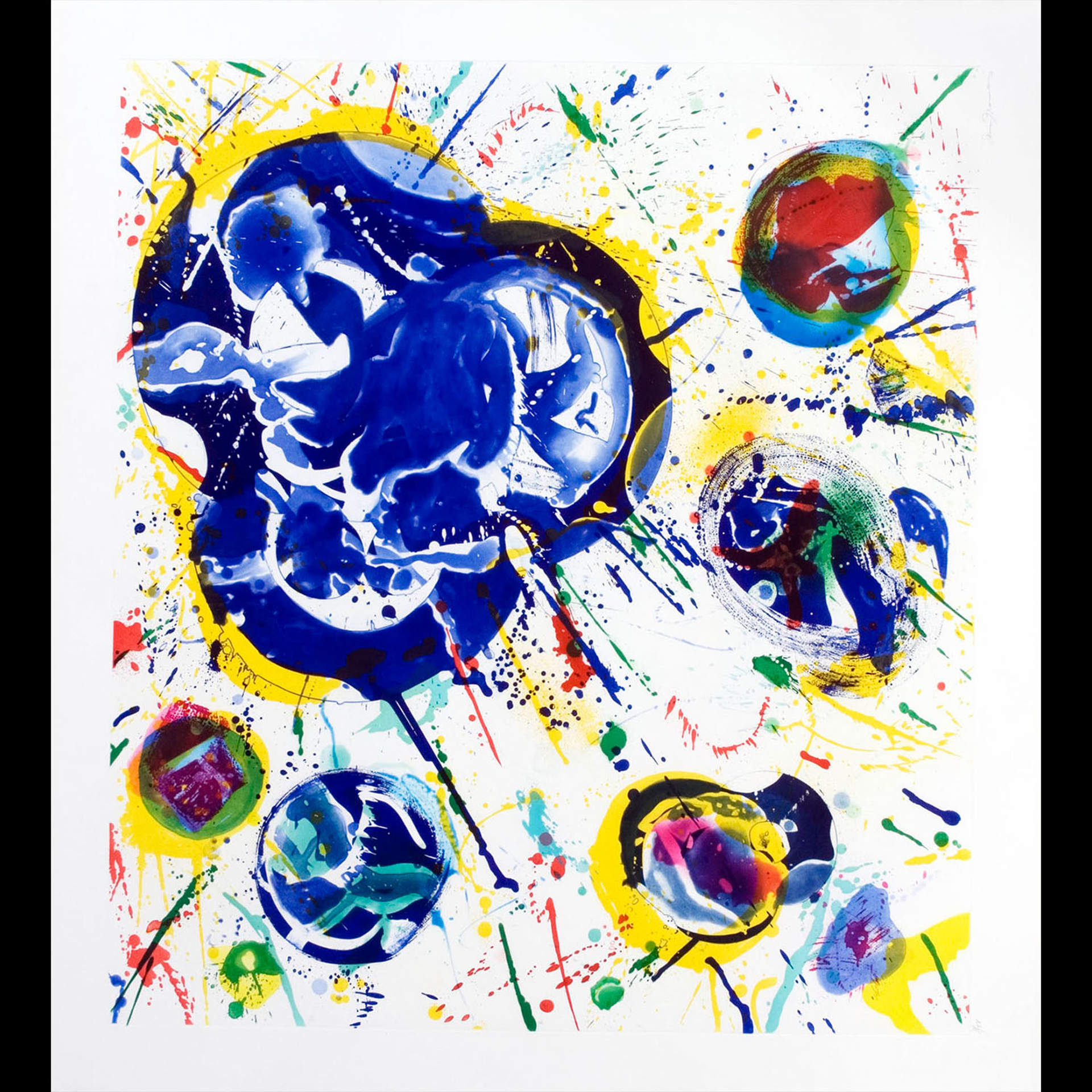 Senza Titolo 1 L 187, 1987 by Sam Francis