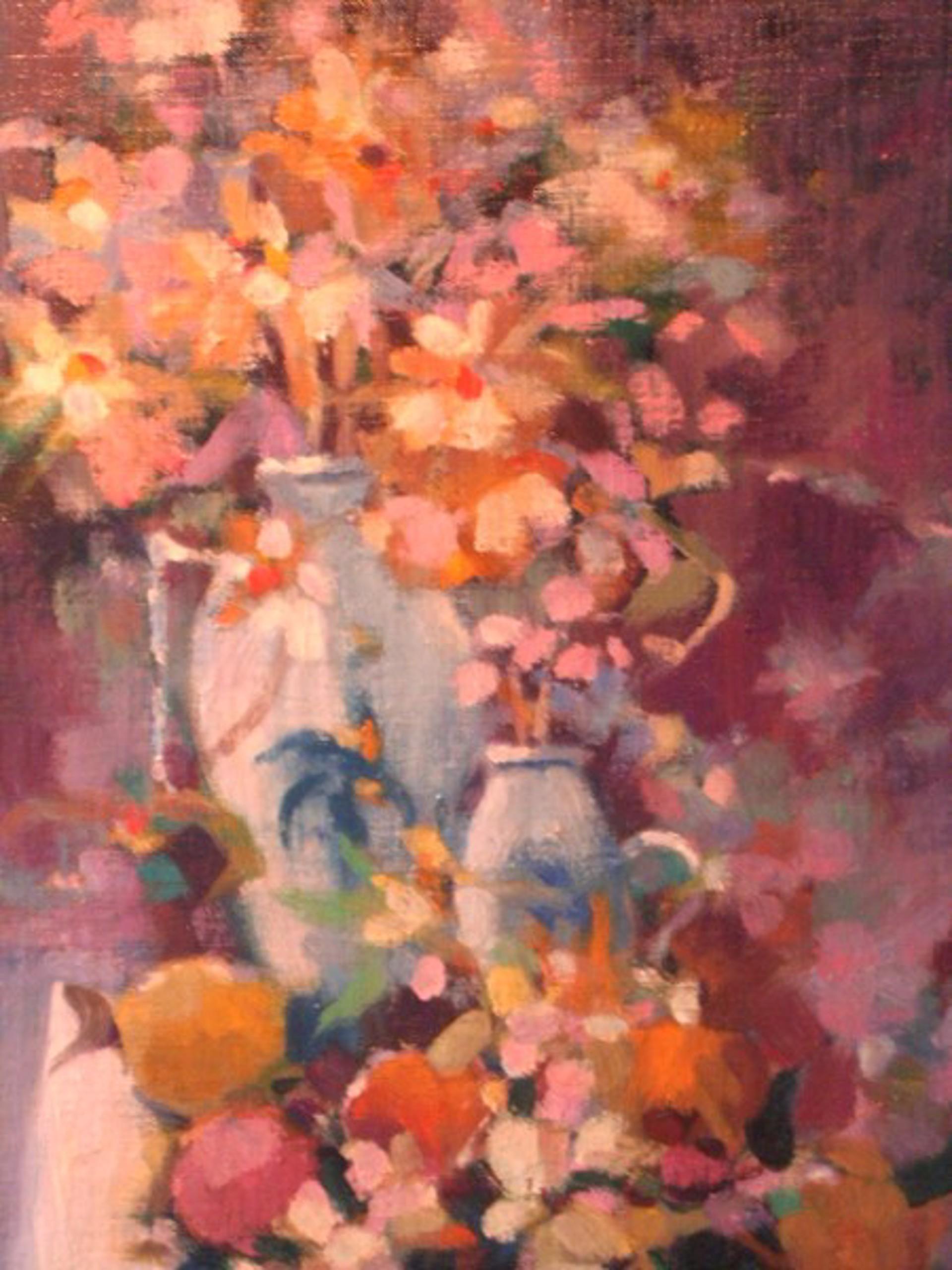 Warm Floral Colors by Robert L. Davis