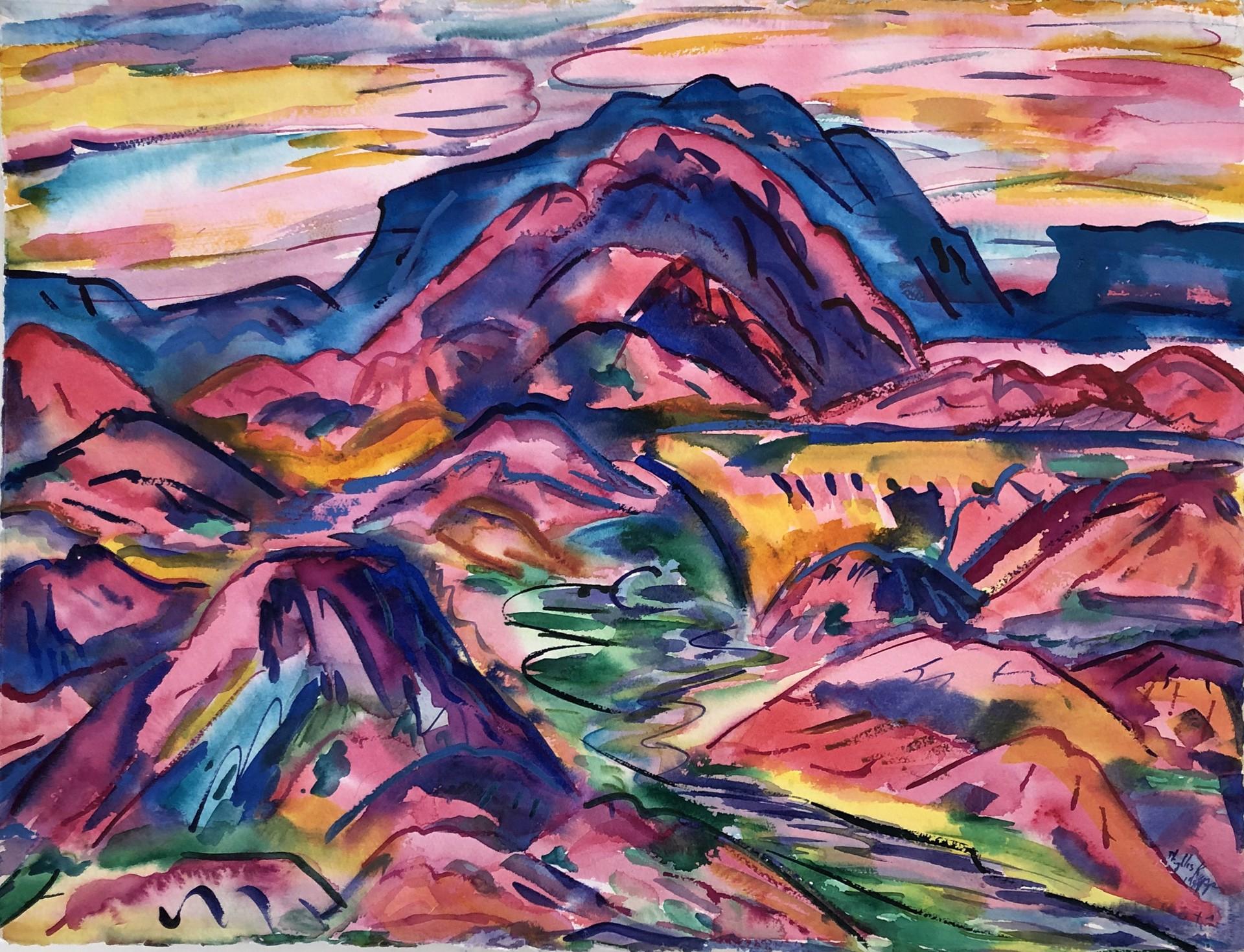 Pink Dream by Phyllis Kapp