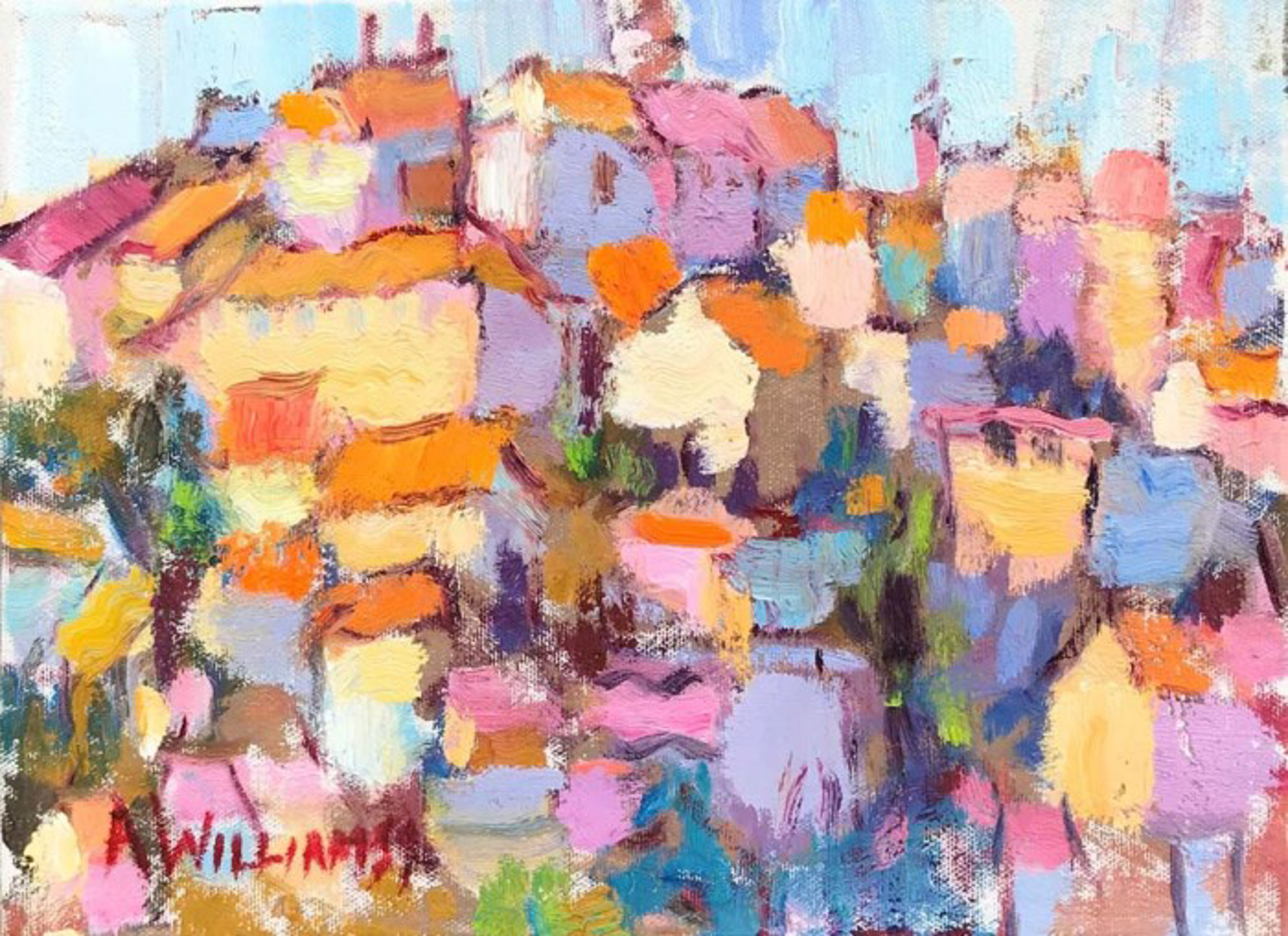 Roussillion Fascination by Alice Williams