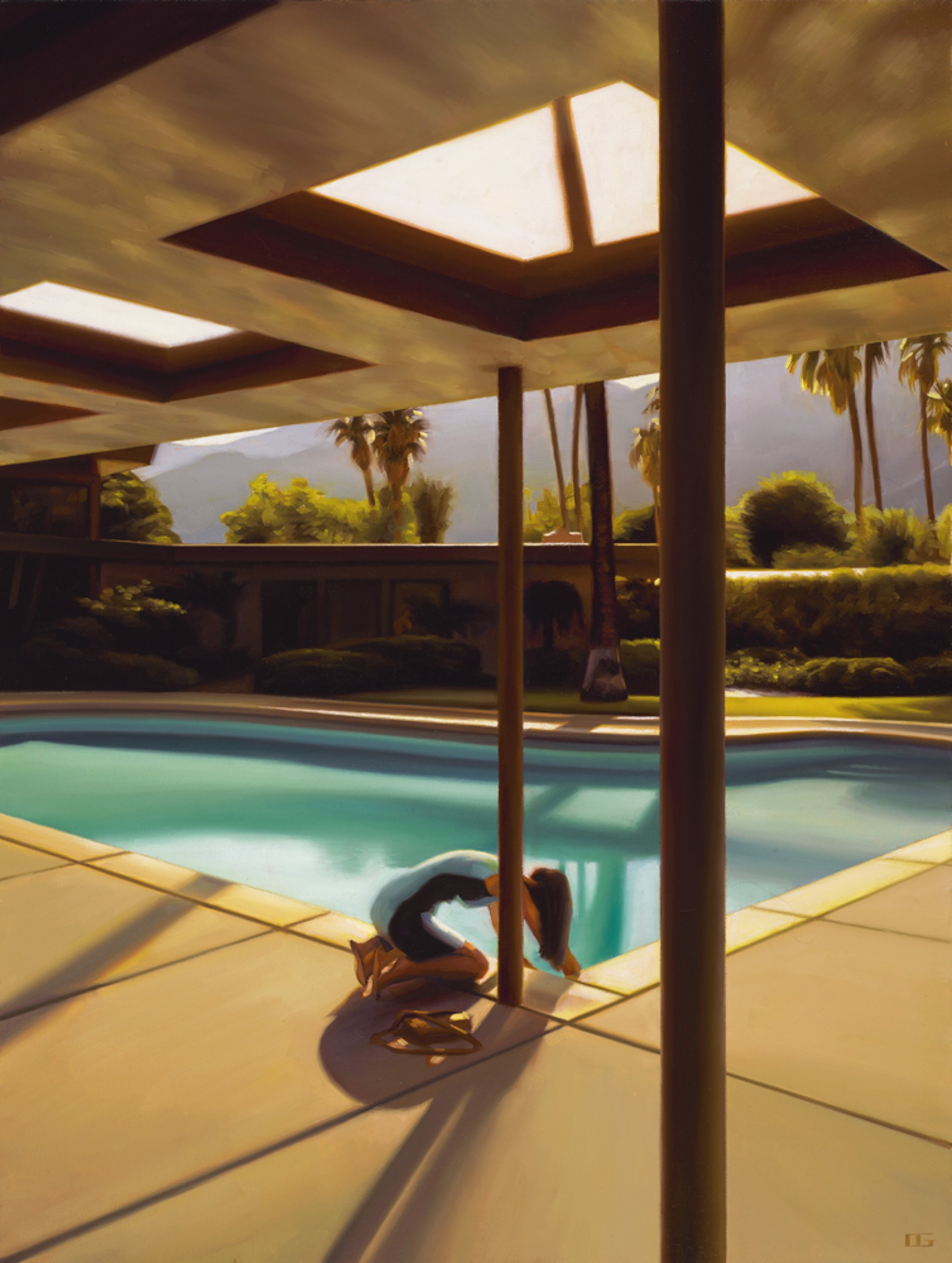 Testing the Water (Sinatra House) (S/N) by Carrie Graber