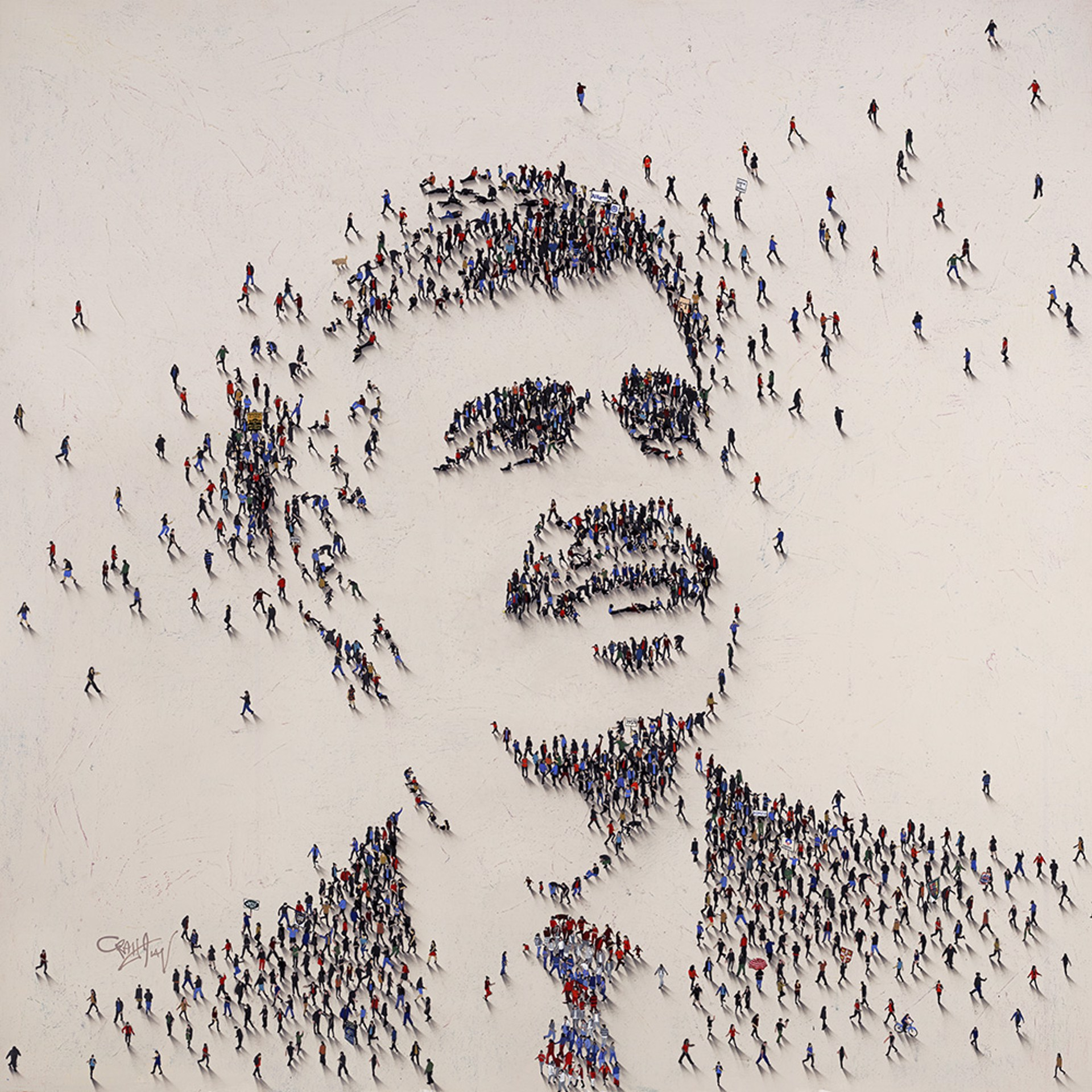 Mohamed A. El-Erian (SOLD) by Craig Alan, Populus Commission
