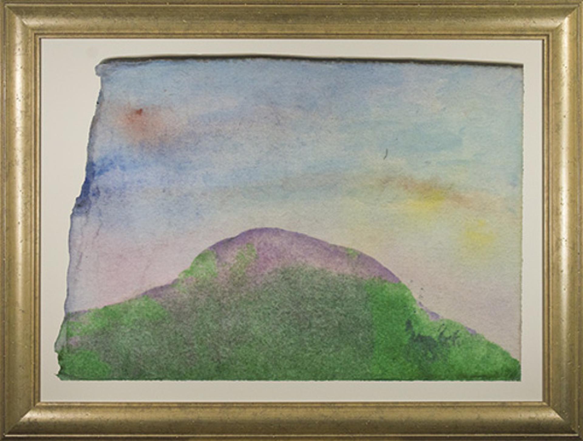 Purple Mountain With Boomerang by David Barnett