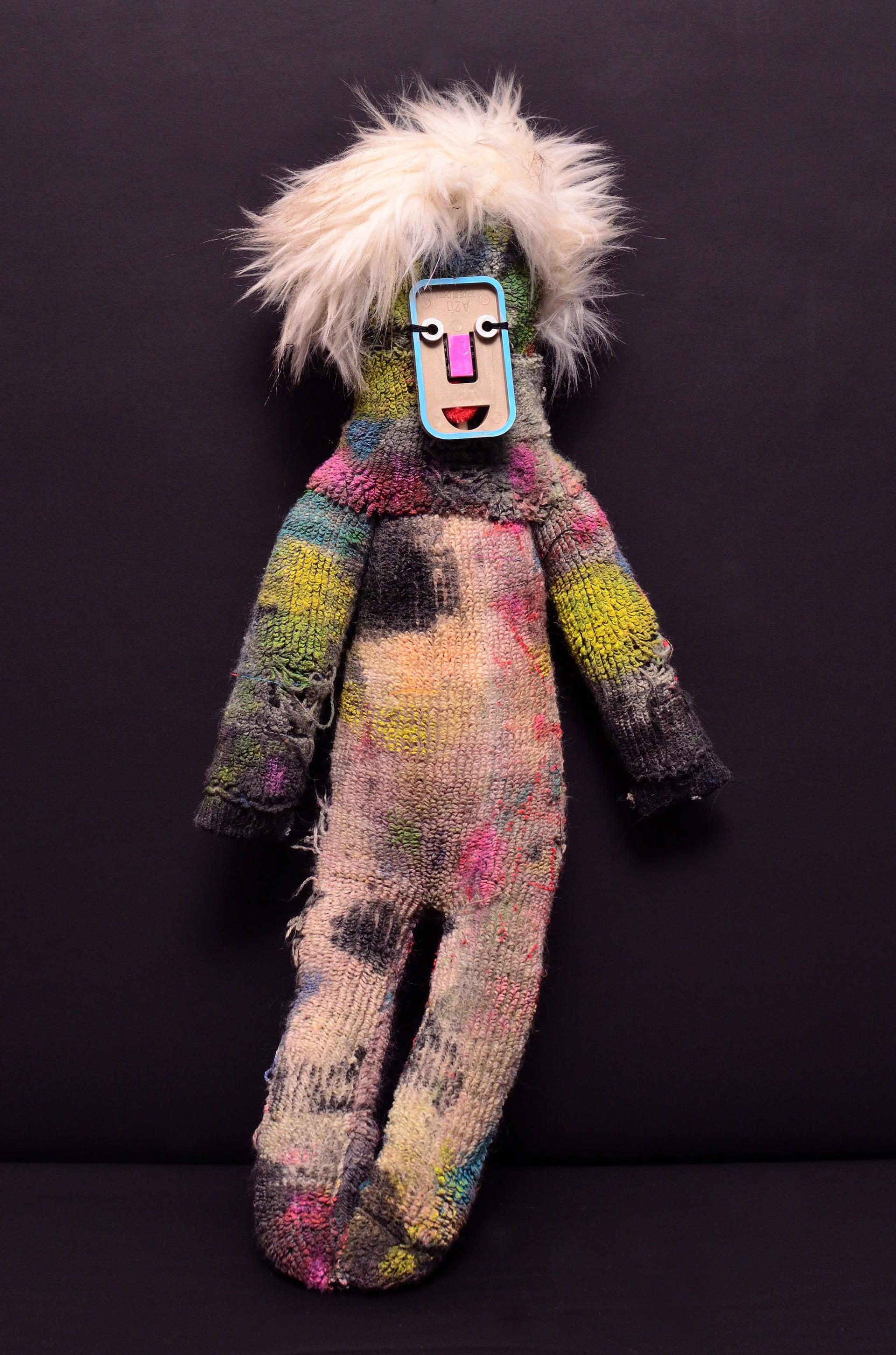 Back Up Clown (Three) by Laura Castellanos