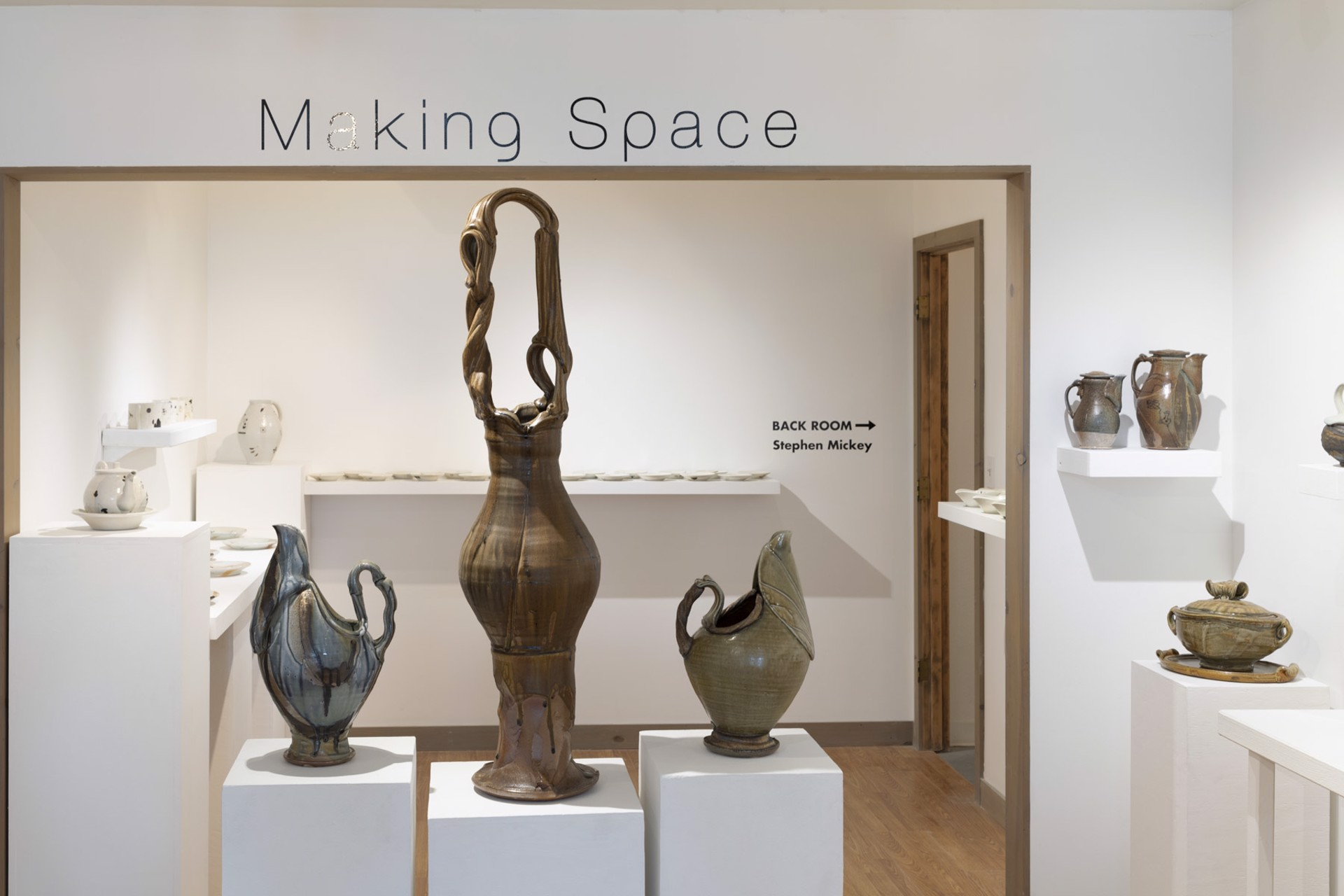 Making Space; Aug 2-31, 2019 by Josh DeWeese