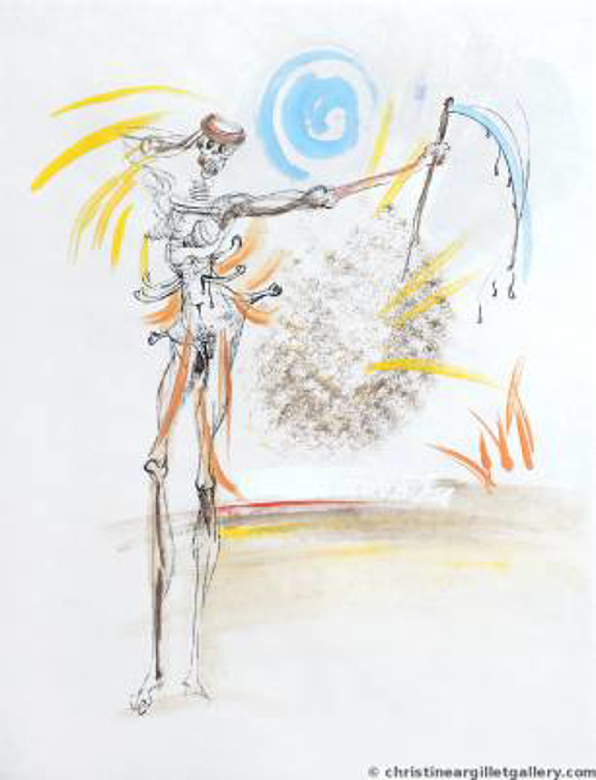 "Venus in Furs Vignettes  ""Love & Death"" by Salvador Dali"