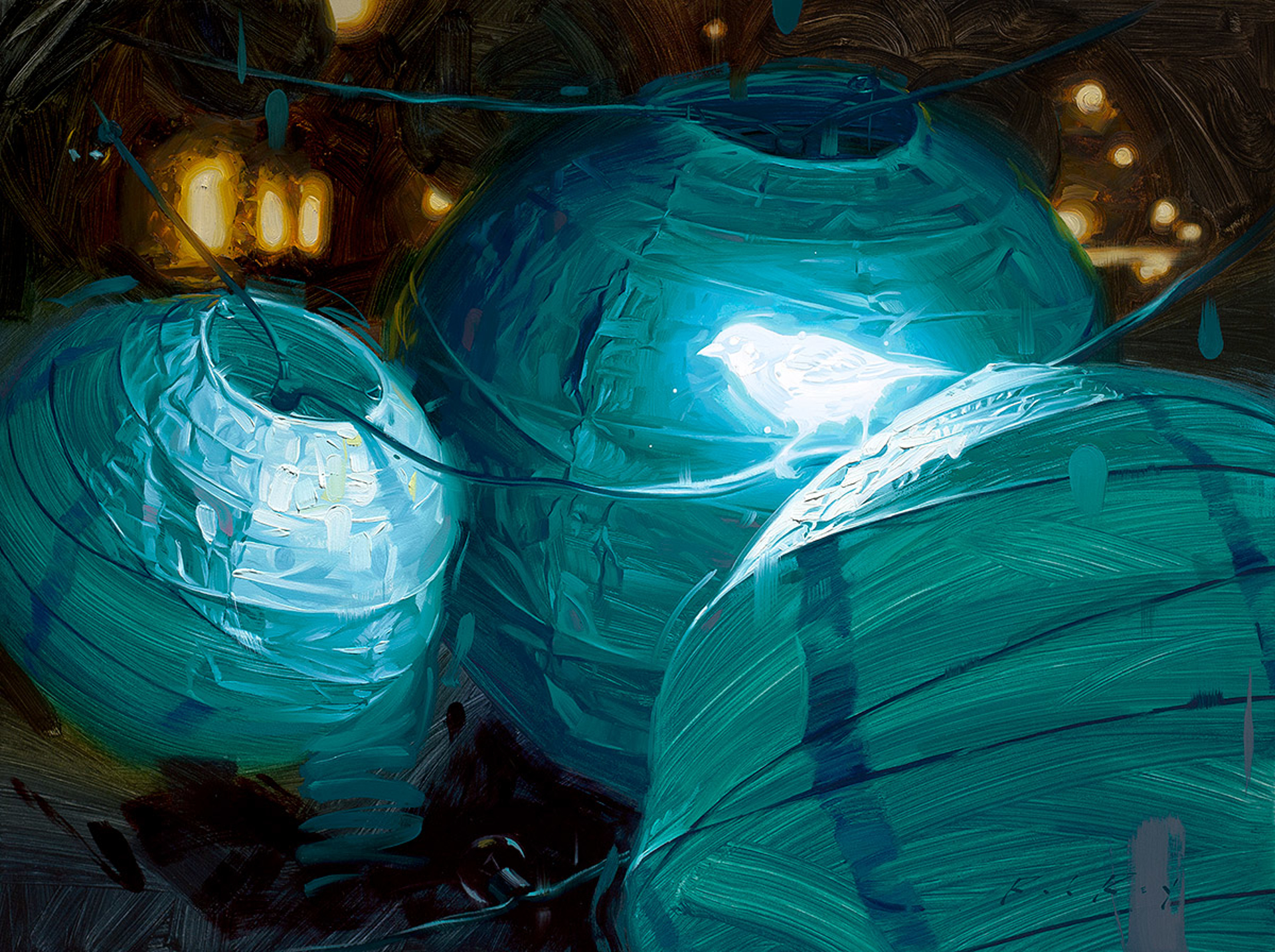 Bioluminescence IV by Rob Rey