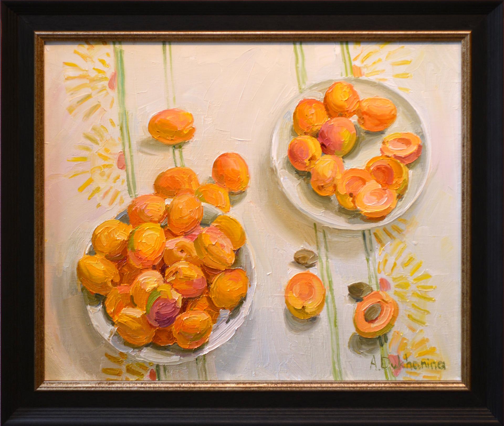 Apricots by Anastasia Dukhanina