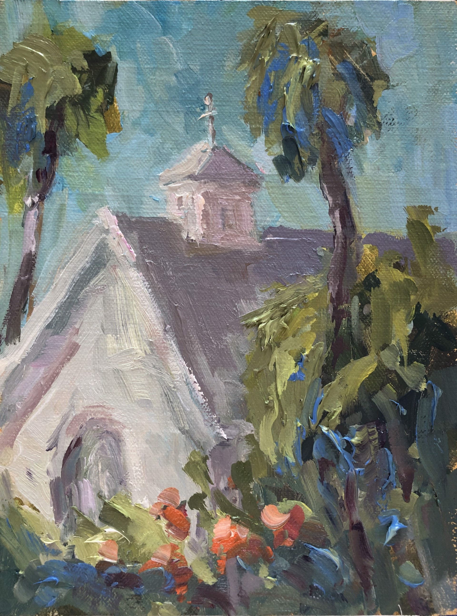 St James Church, Hope Town (Abaco) by Karen Hewitt Hagan