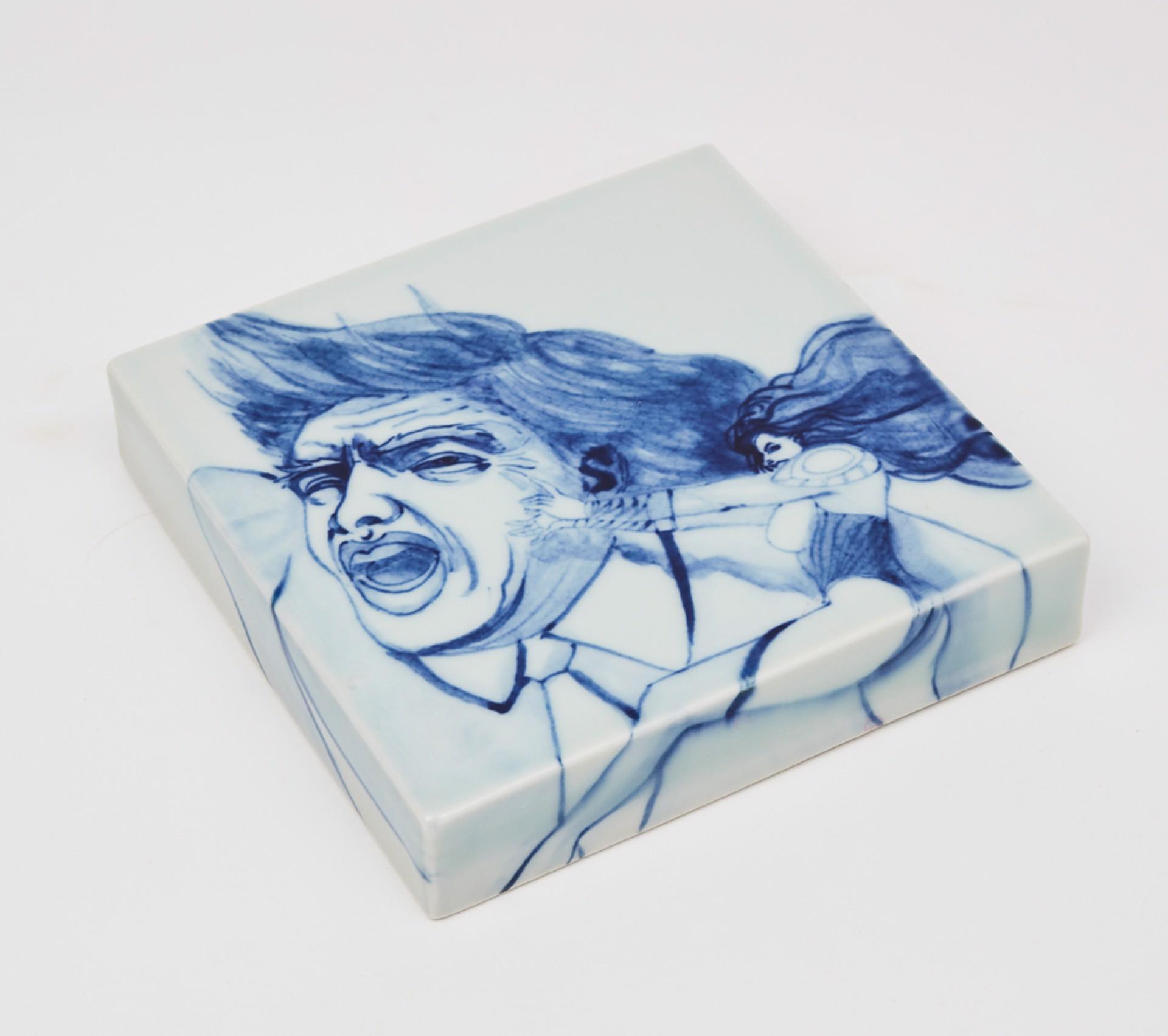 """6"""" tile 4 by Shoji Satake"""