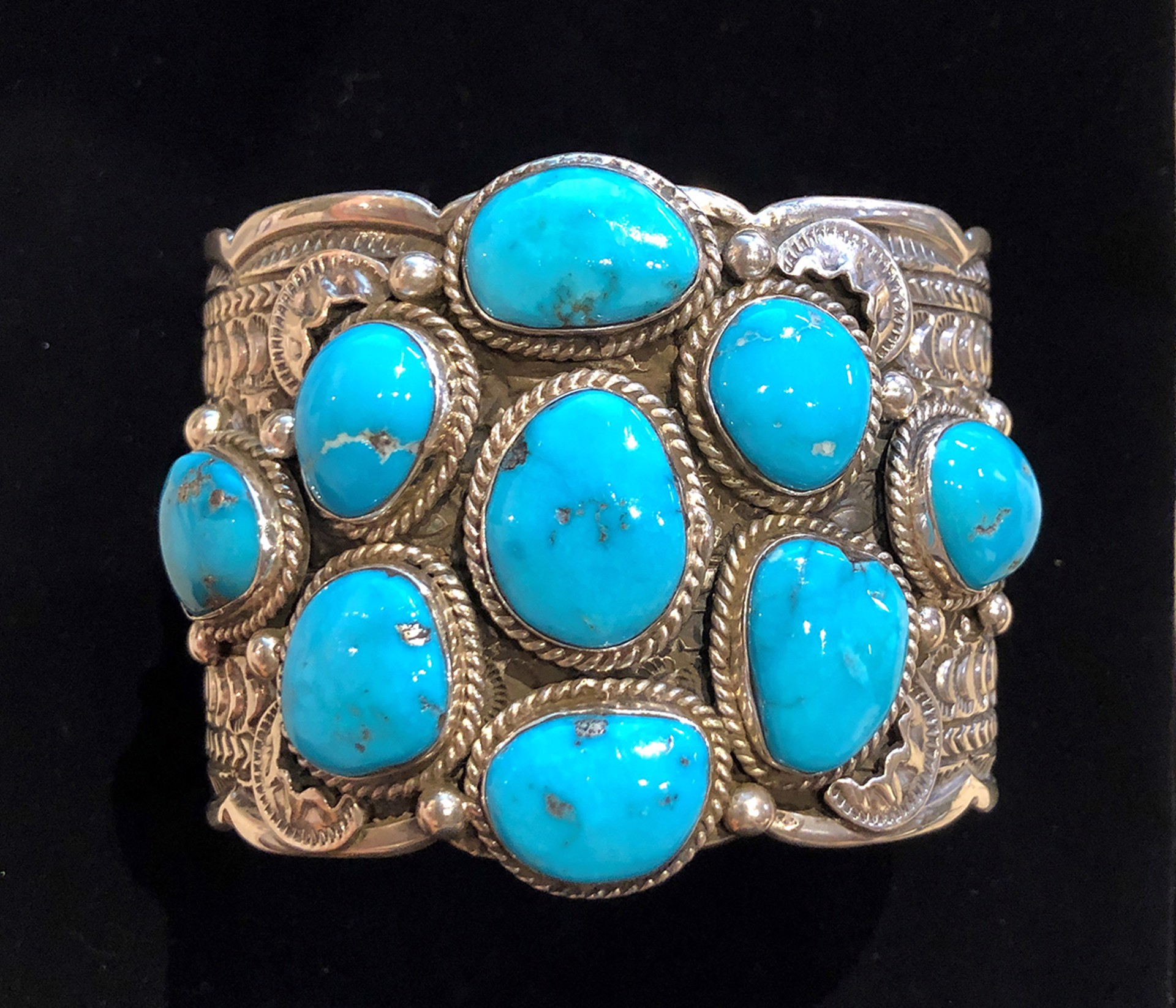 Navajo, Tillie Jon Sleeping Beauty Turquoise Bracelet