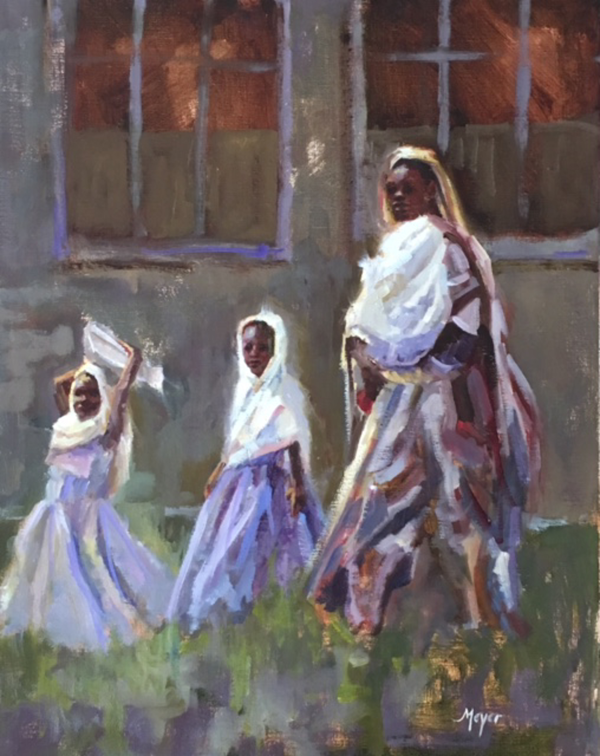 Princesses In Purple by Laurie Meyer