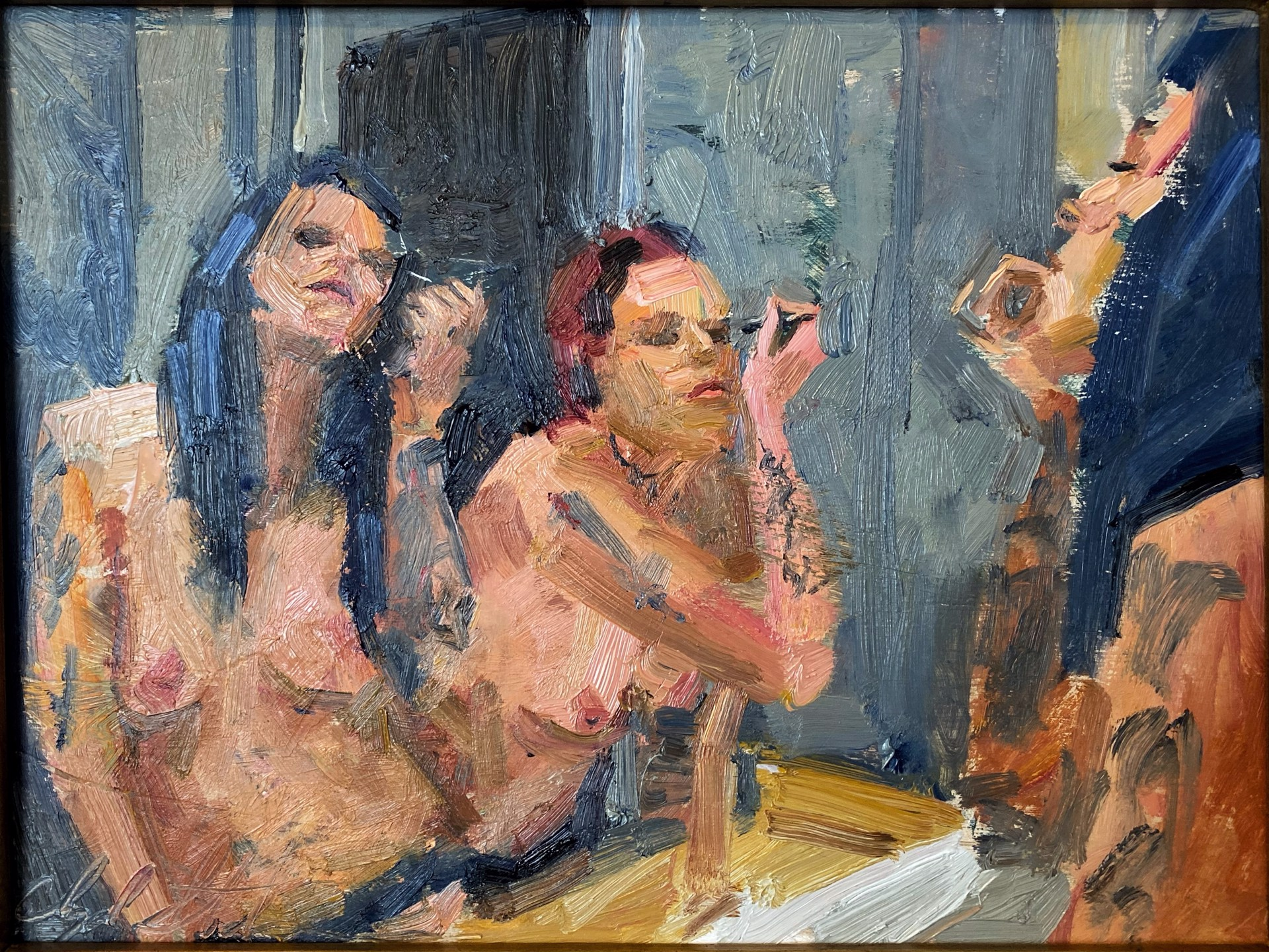 Waiting for the Laundry by Clyde Steadman
