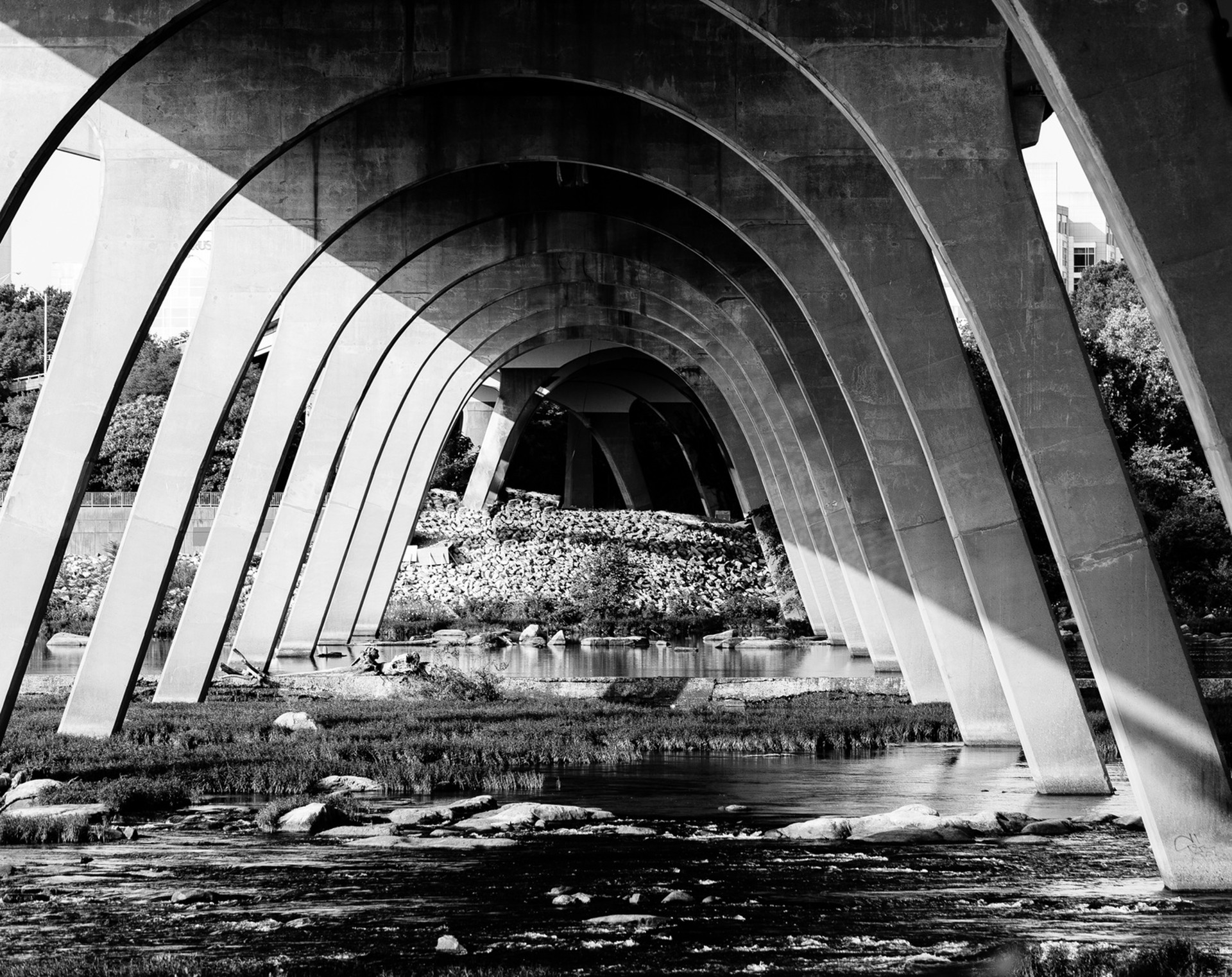9th street bridge by Alex Nyerges