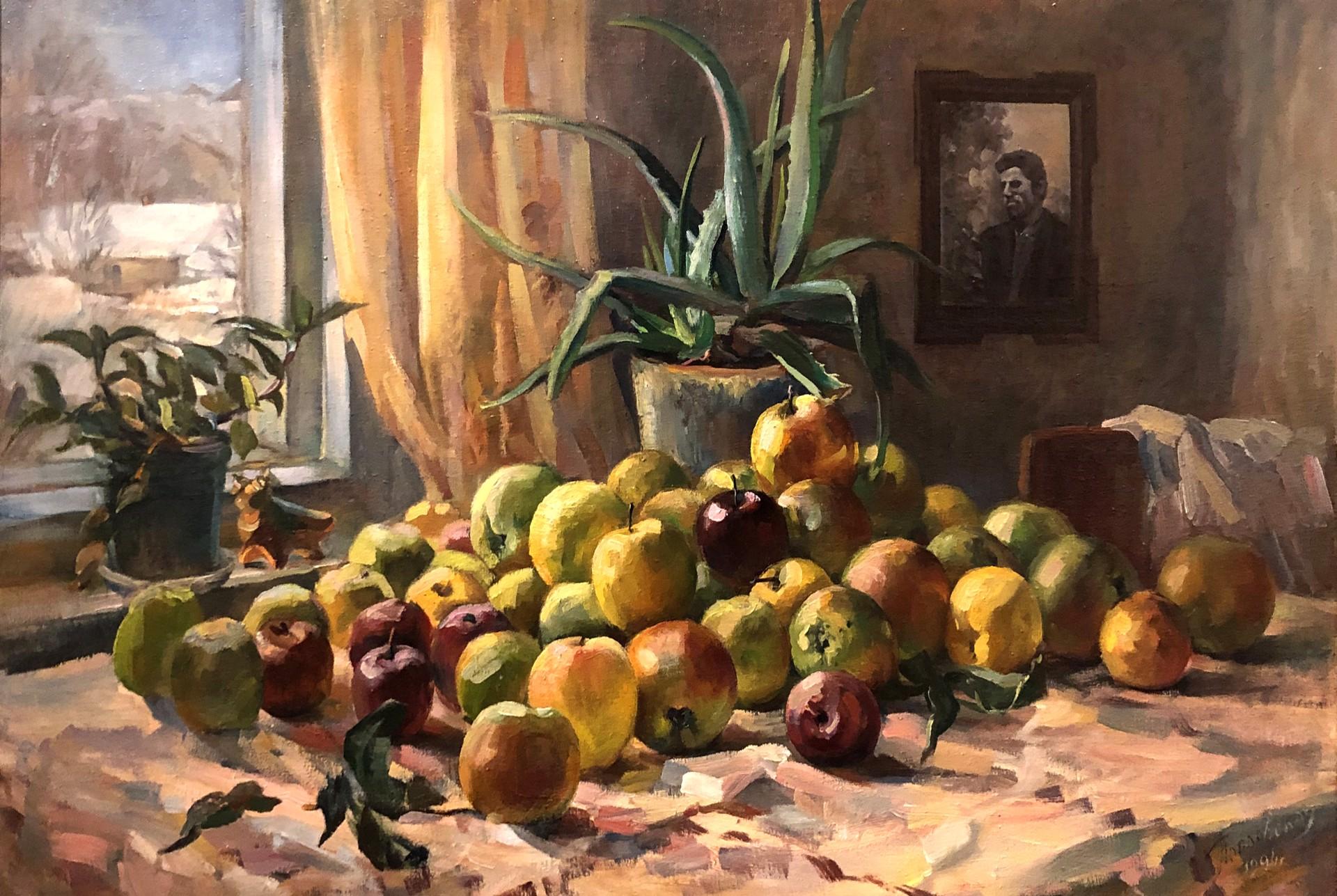 Tatyana Tikhonouna Poplavskaya - Still Life by Russian Artists