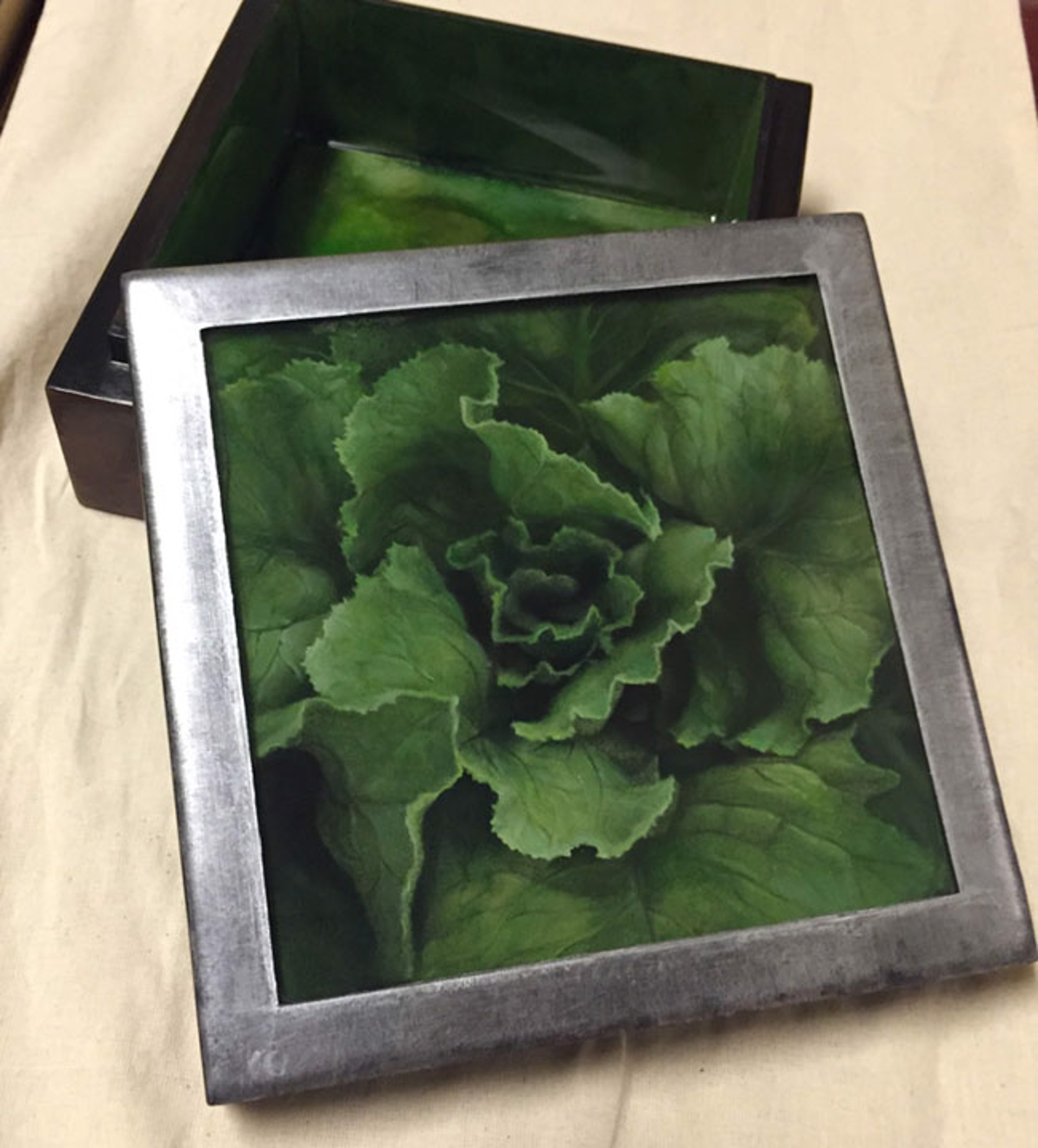 Lettuce (Jewelry Box) by Larissa Morais