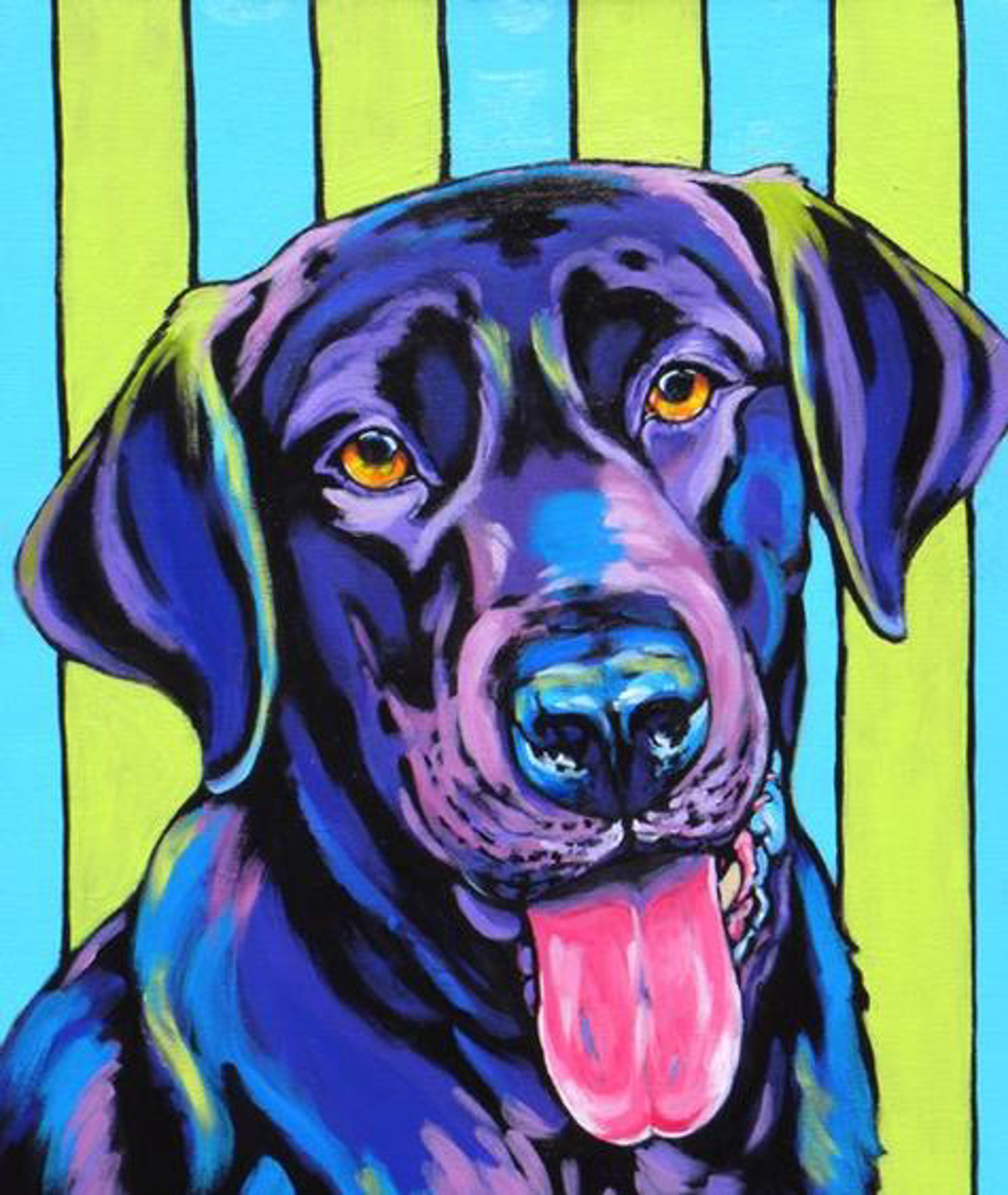 Lucky by Sally Evans -- Prints
